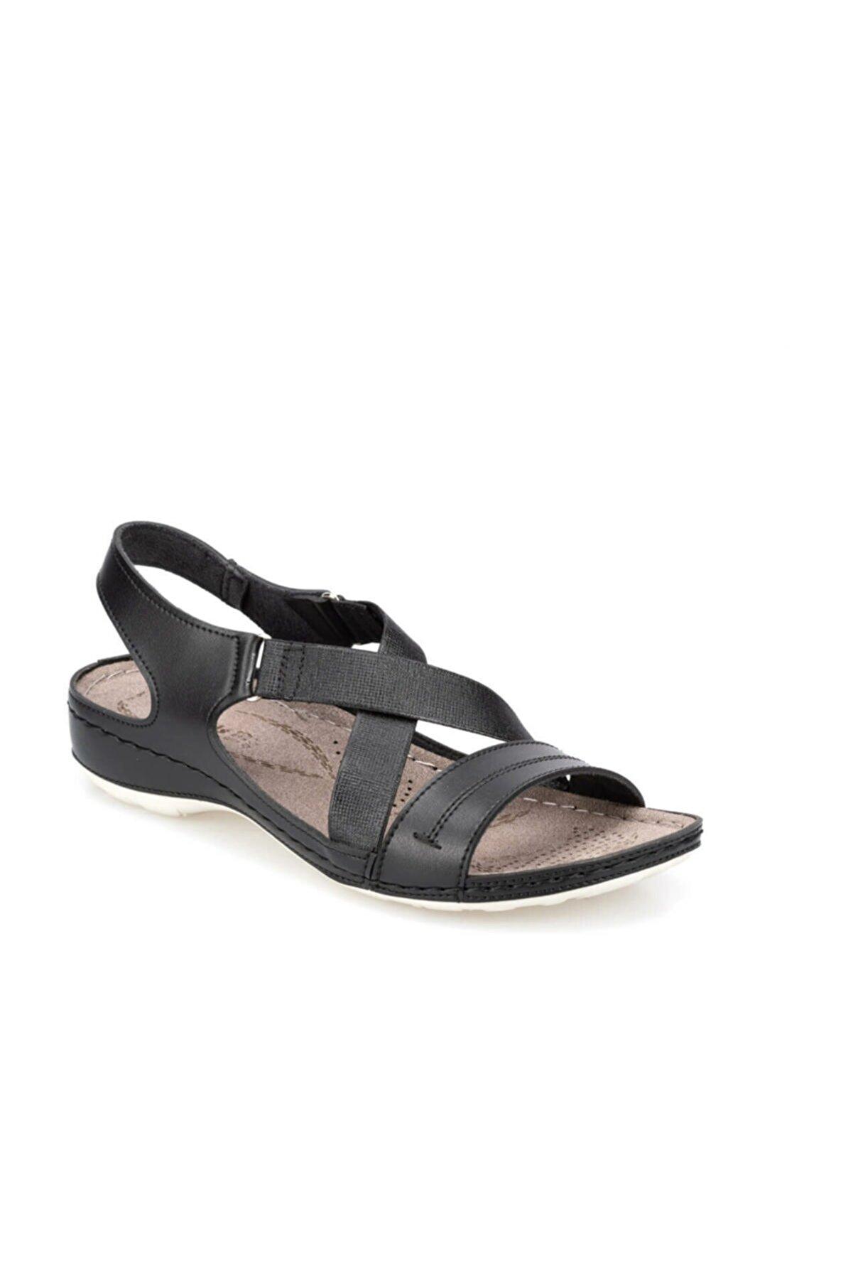 Polaris 91.150772.Z Siyah Kadın Sandalet 100374974