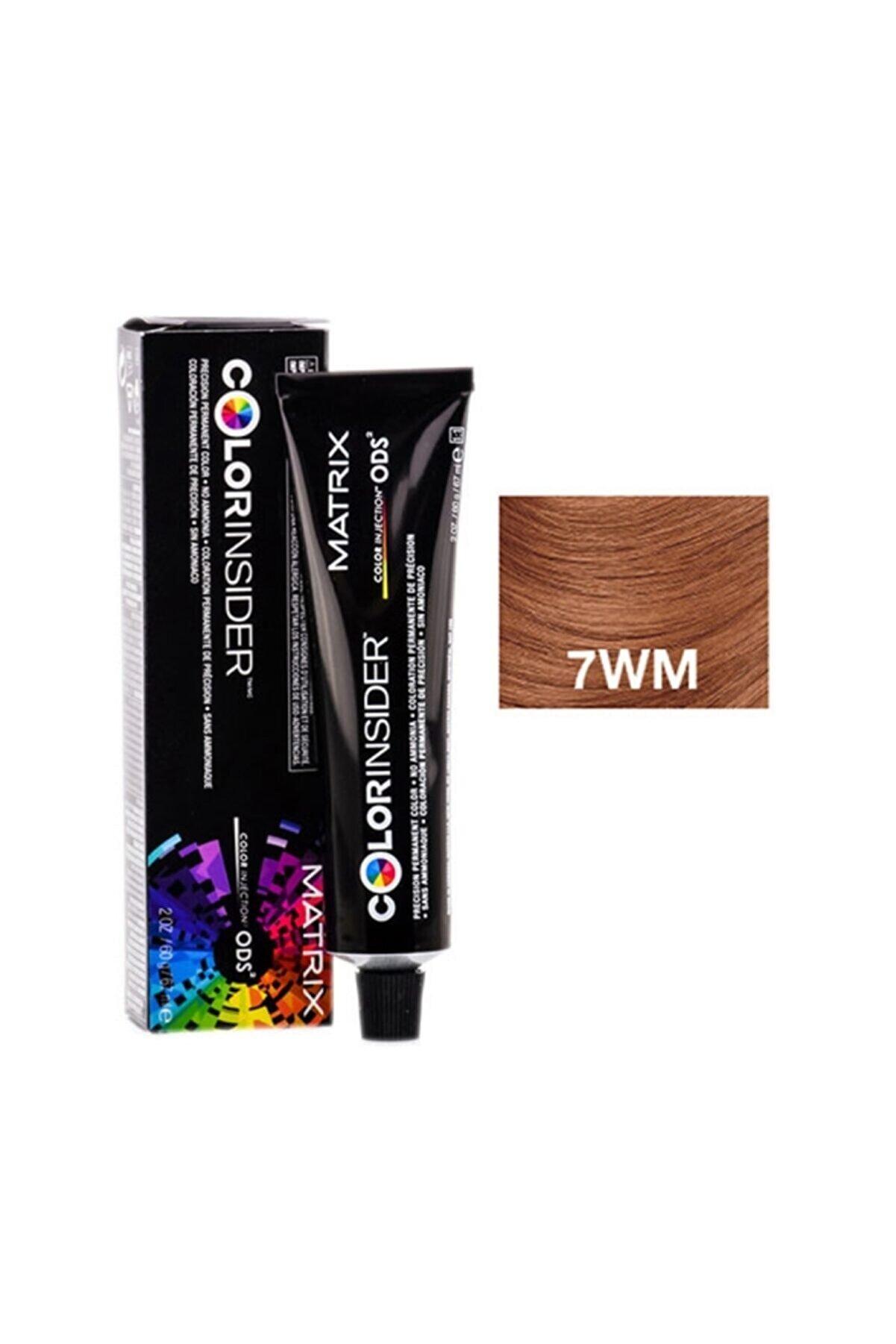 Matrix Color Insider 7wm Dark Blonde Warm Mocha Permanent Color