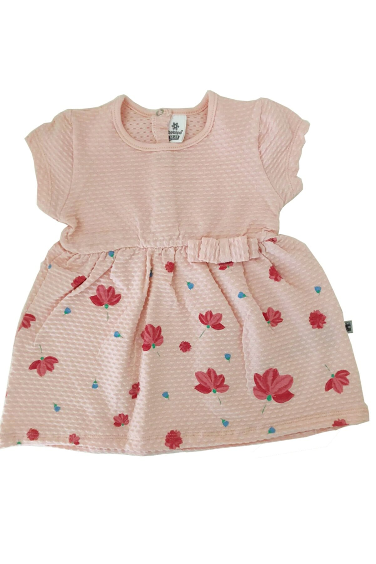BEBİÇO KİDS Kız Bebek Pembe  Elbise