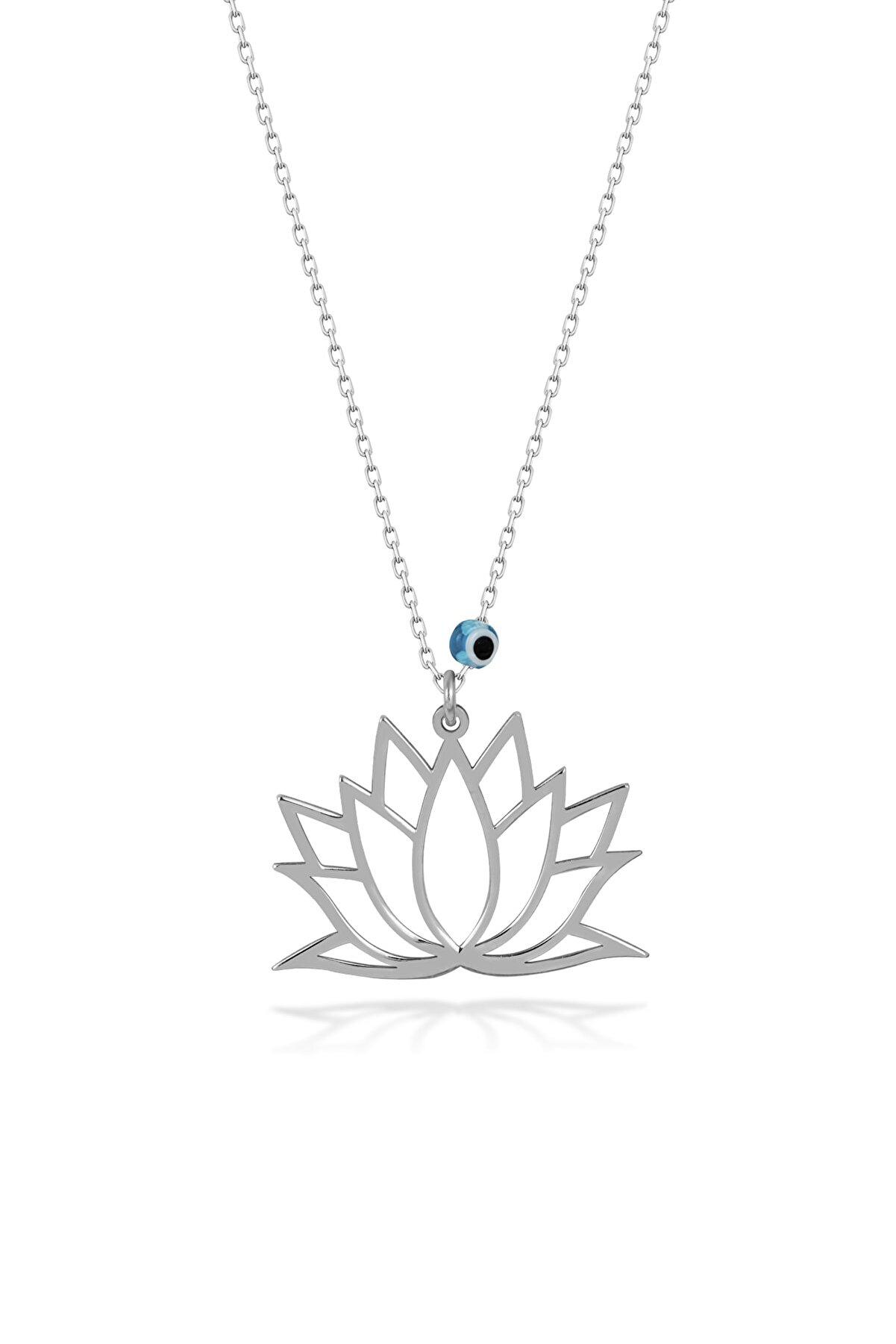 SARIASLAN Orjinal Lotus Çiçeği Kolye