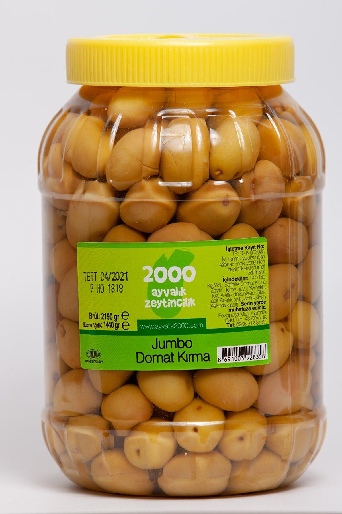 2000 AYVALIK ZEYTİNCİLİK Jumbo Domat Kırma 1440 gr. (4xl-141-160 kg/ad)