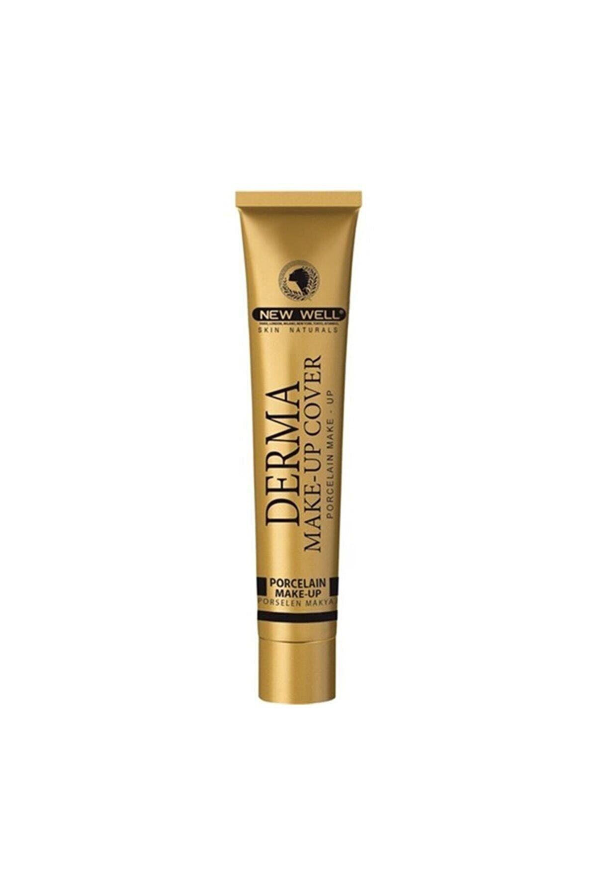 New Well Yoğun Kapatıcı Fondöten - Derma Make Up Cover 01 Gold 30 ml 8680923304816