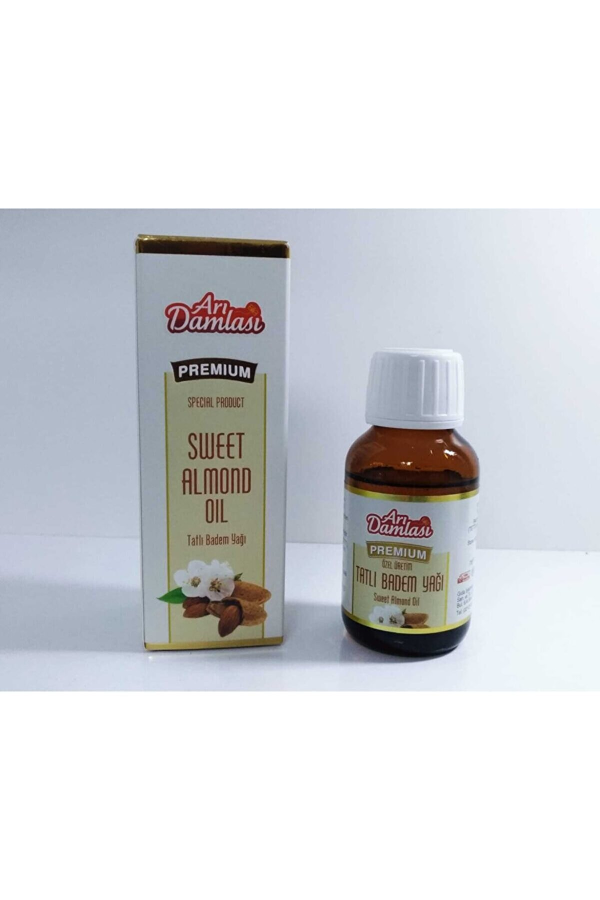 Arı damlası Tatlı Badem Yağı 50 ml