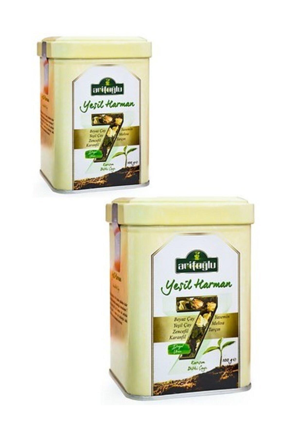 Arifoğlu Yeşil Harman 100 + 100 gr (2li Teneke Kutu Bitki Çayı)