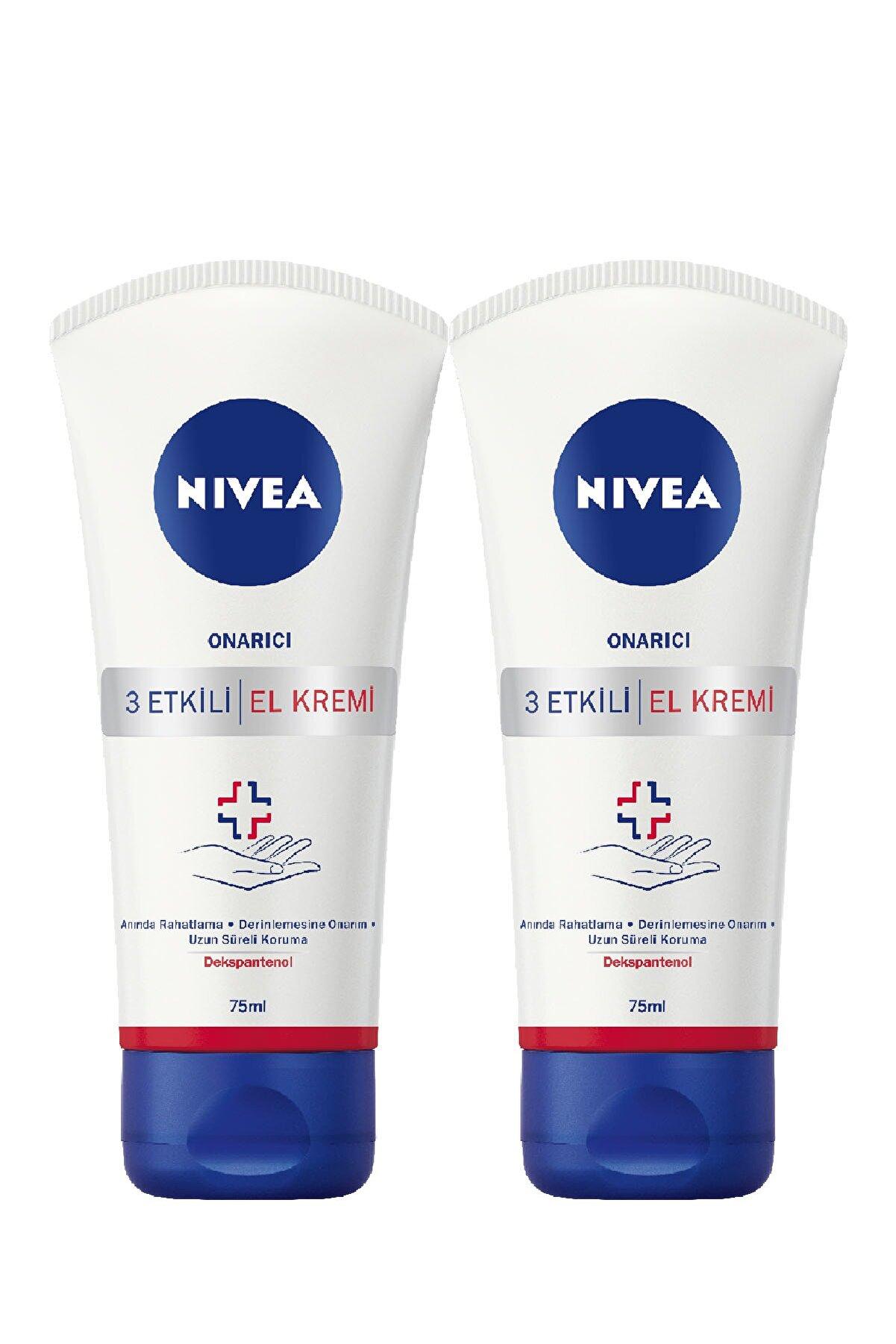 Nivea Repair & Care Onarıcı El Kremi - 75 ml x 2