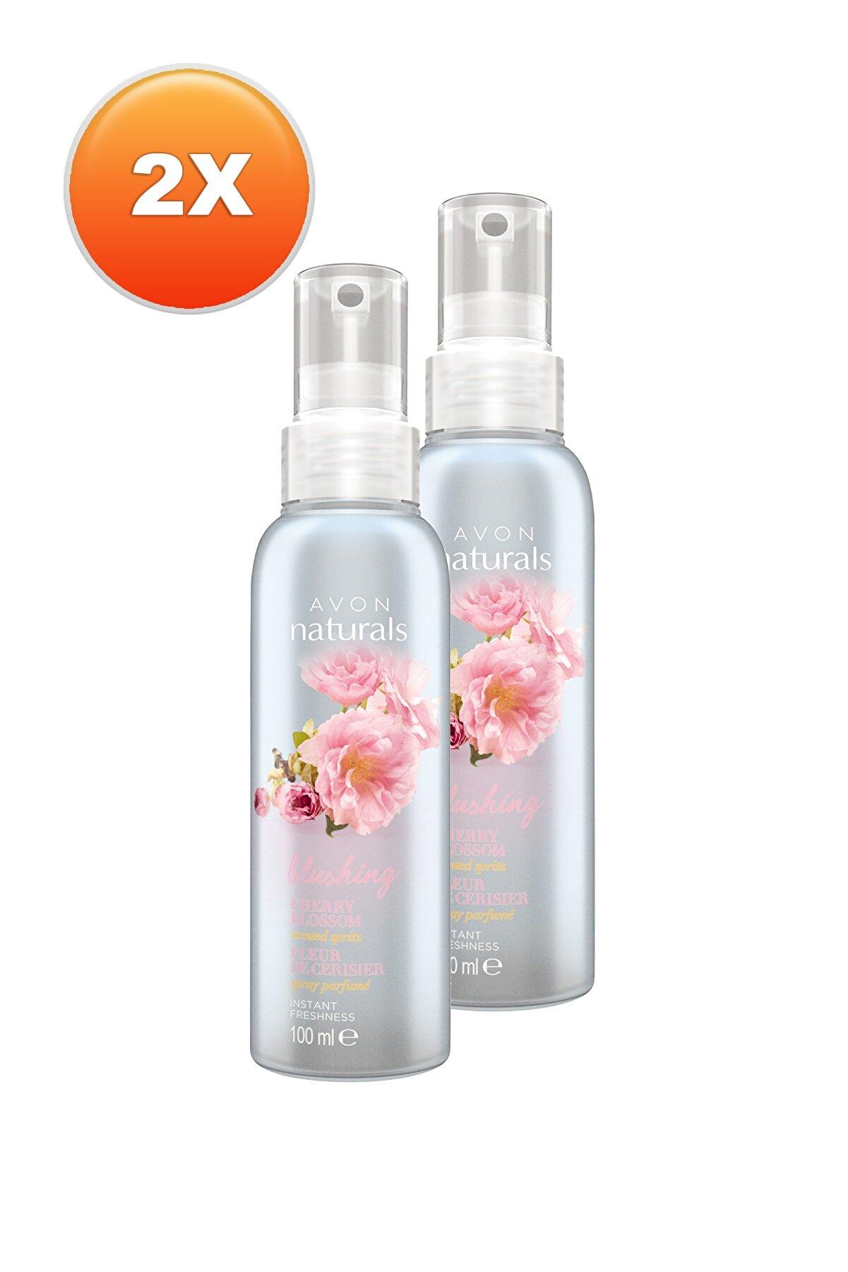Avon Naturals Kiraz Çiçeği Özlü Kadın Vücut Spreyi 2'li Set 5050000100410