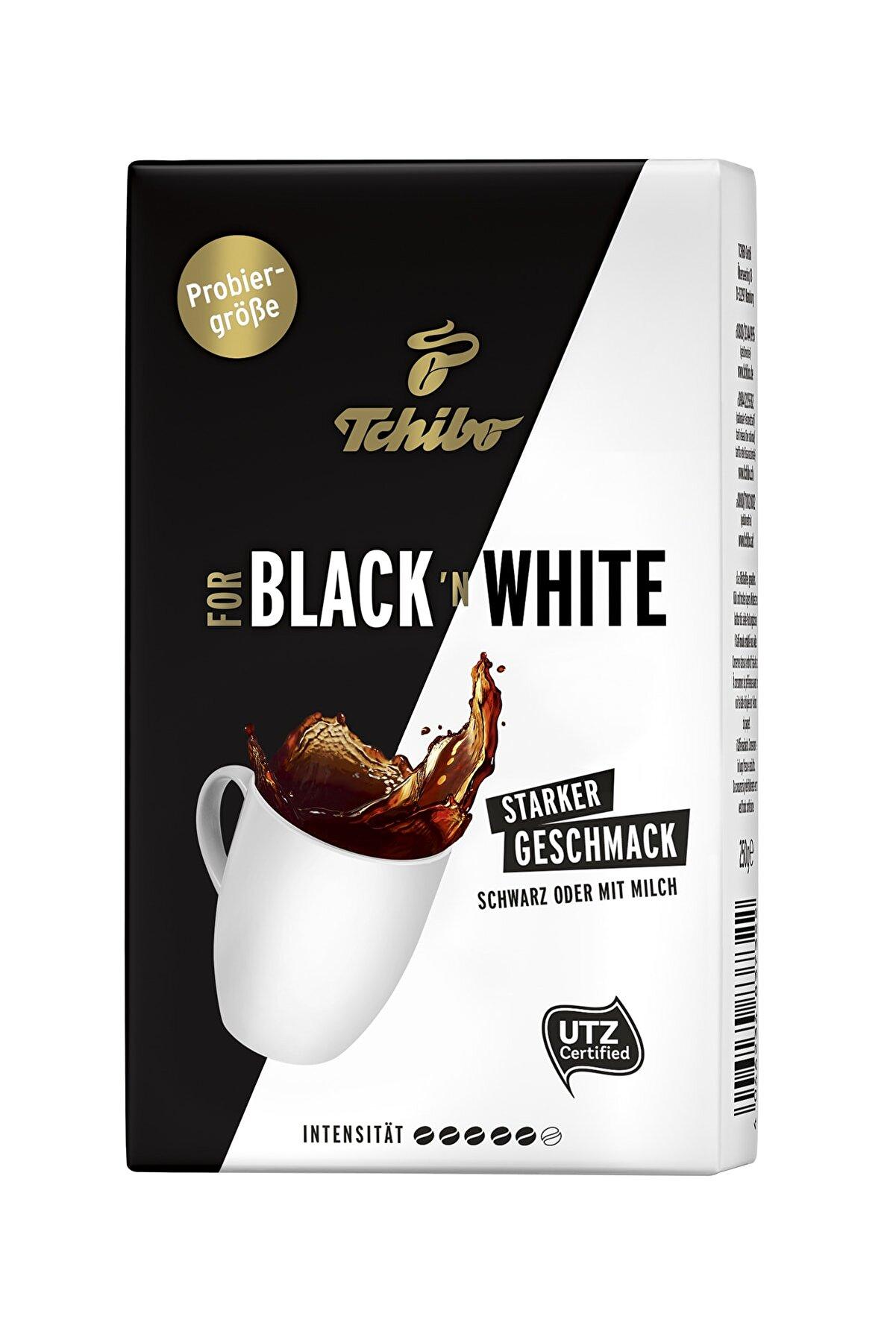 Tchibo Black'n White Öğütülmüş Filtre Kahve 250 gr