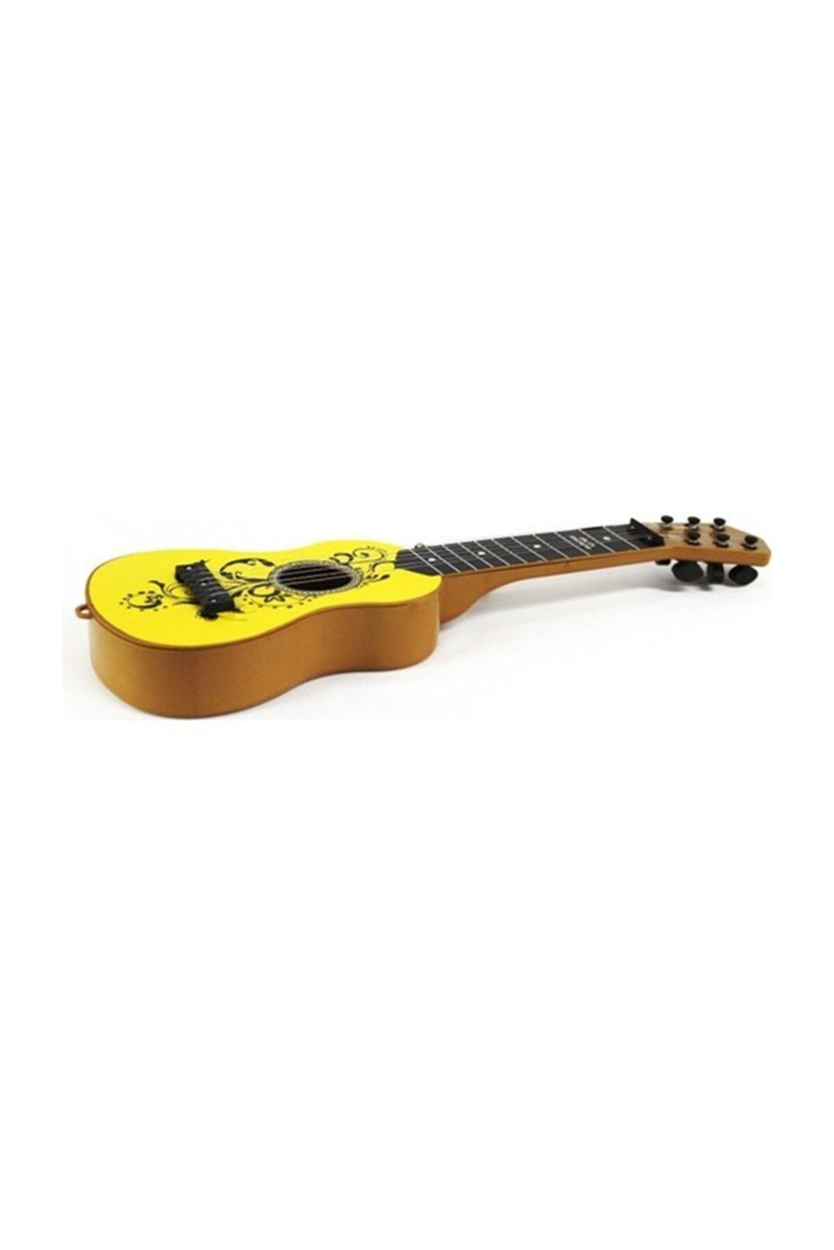 aslan oyuncak Ispanyol Gitar Sarı Renk Müzik Aleti