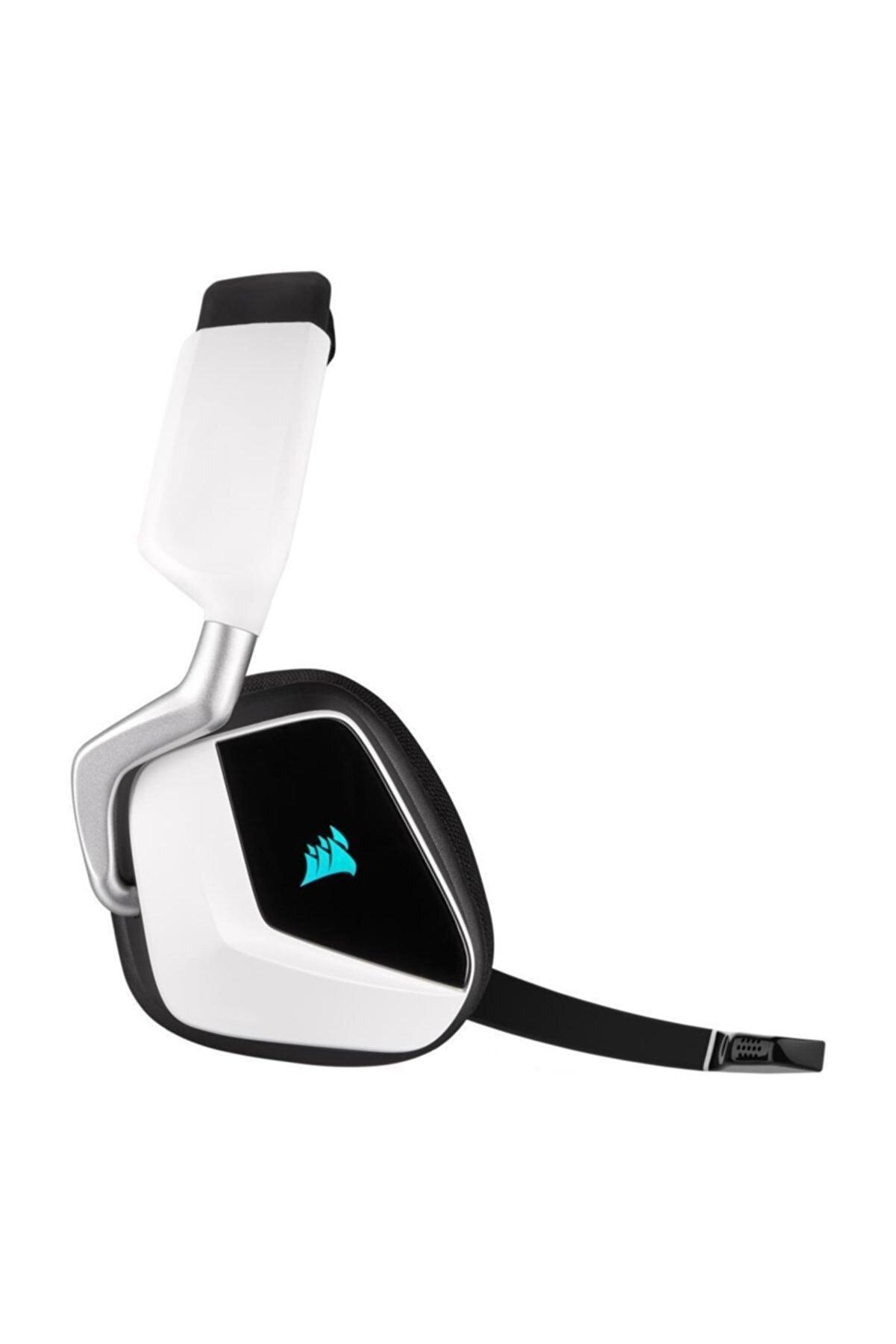 Corsair Void Rgb Elite 7.1 Beyaz Kablosuz Oyuncu Kulaklığı
