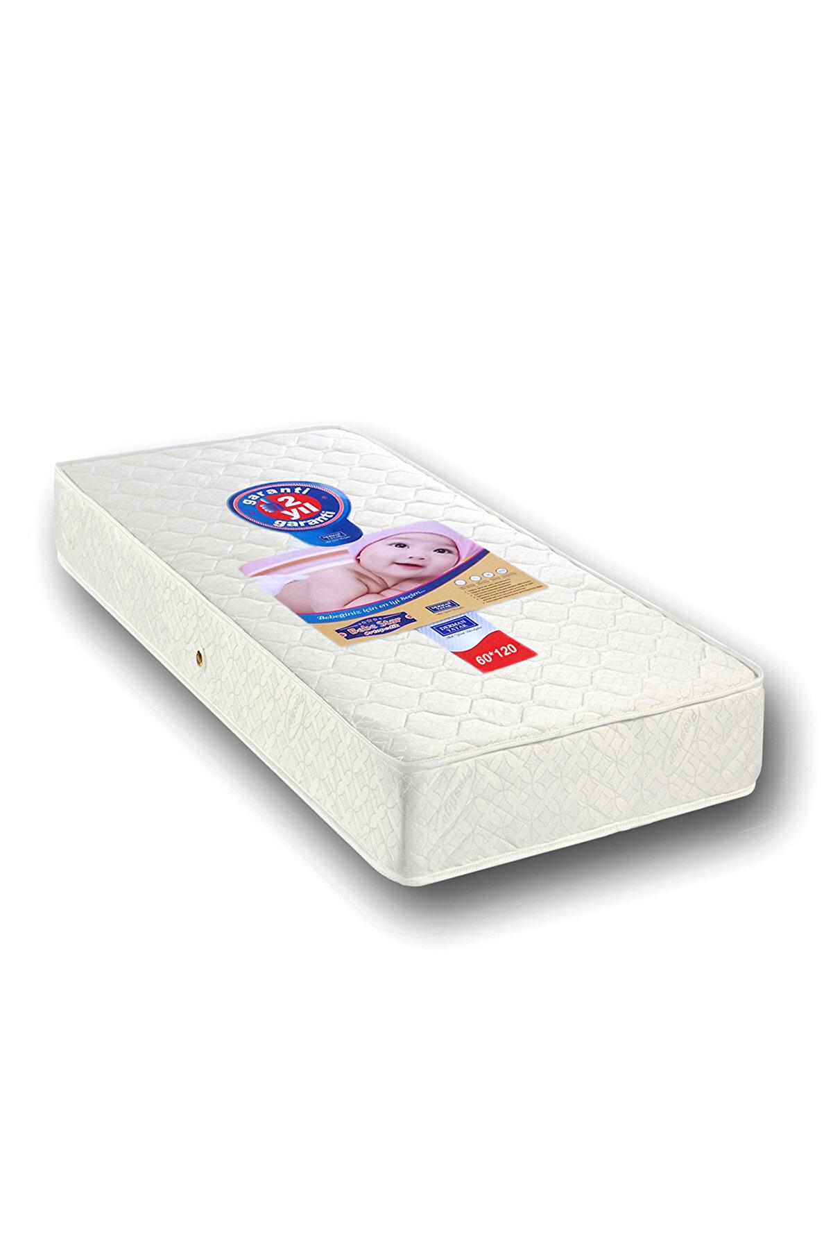Mobpazar Derman Yatak Bebek Yatağı 60 x 120 cm Ortopedik Bebek Yatakları