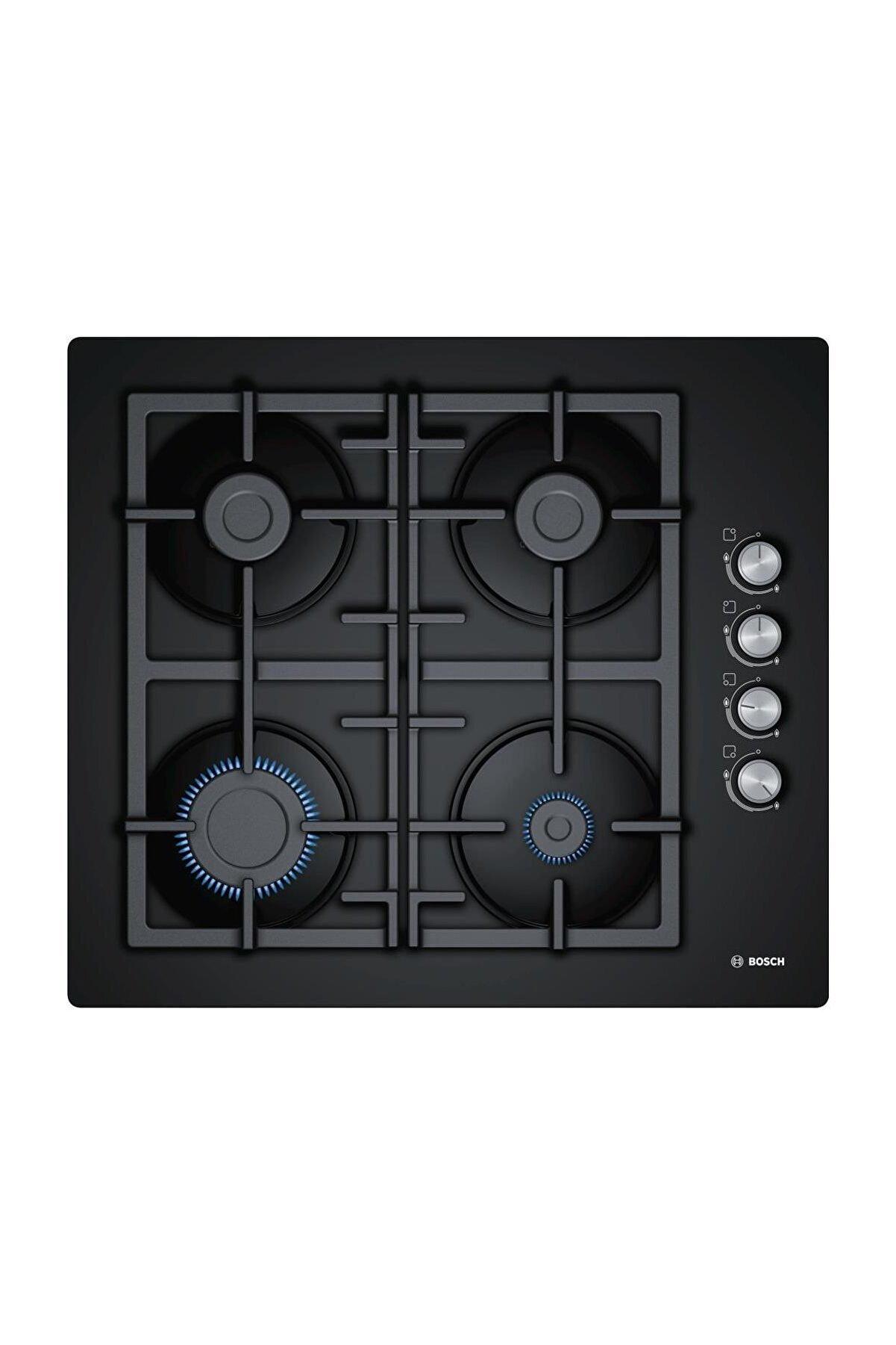 Bosch POP6C6O90O Doğalgazlı Siyah Cam Ankastre Ocak