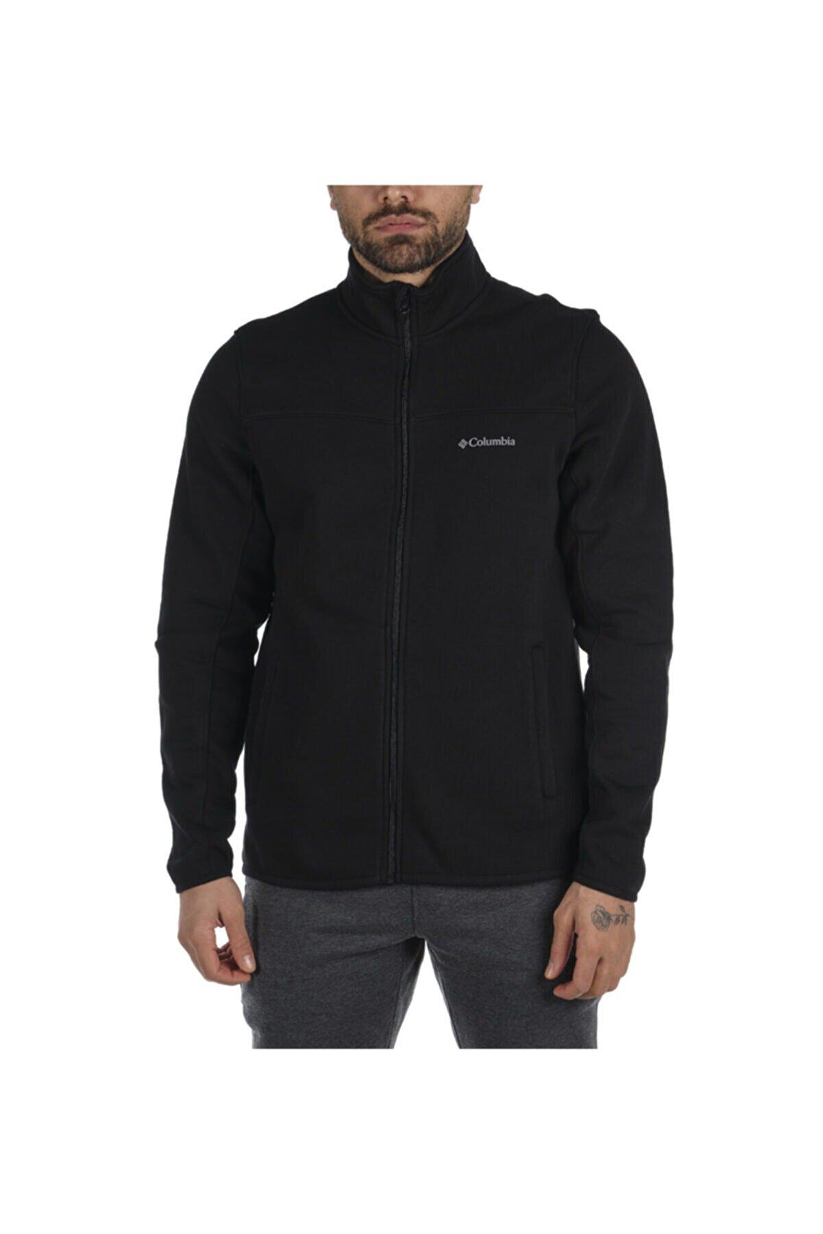 Columbia Csc Basic Logo™ Track Top Siyah Erkek Sweatshirt