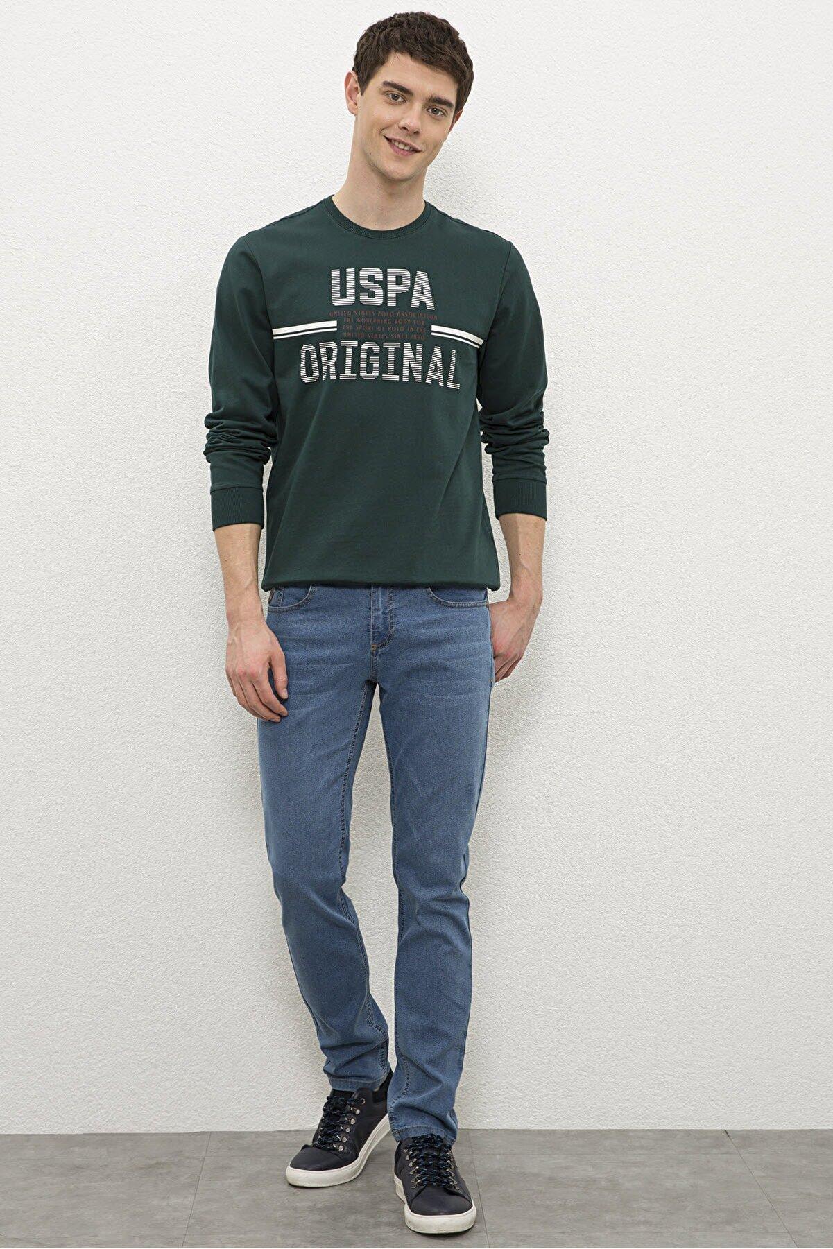 US Polo Assn Mavı Erkek Pantolon G081Sz080.000.1194383