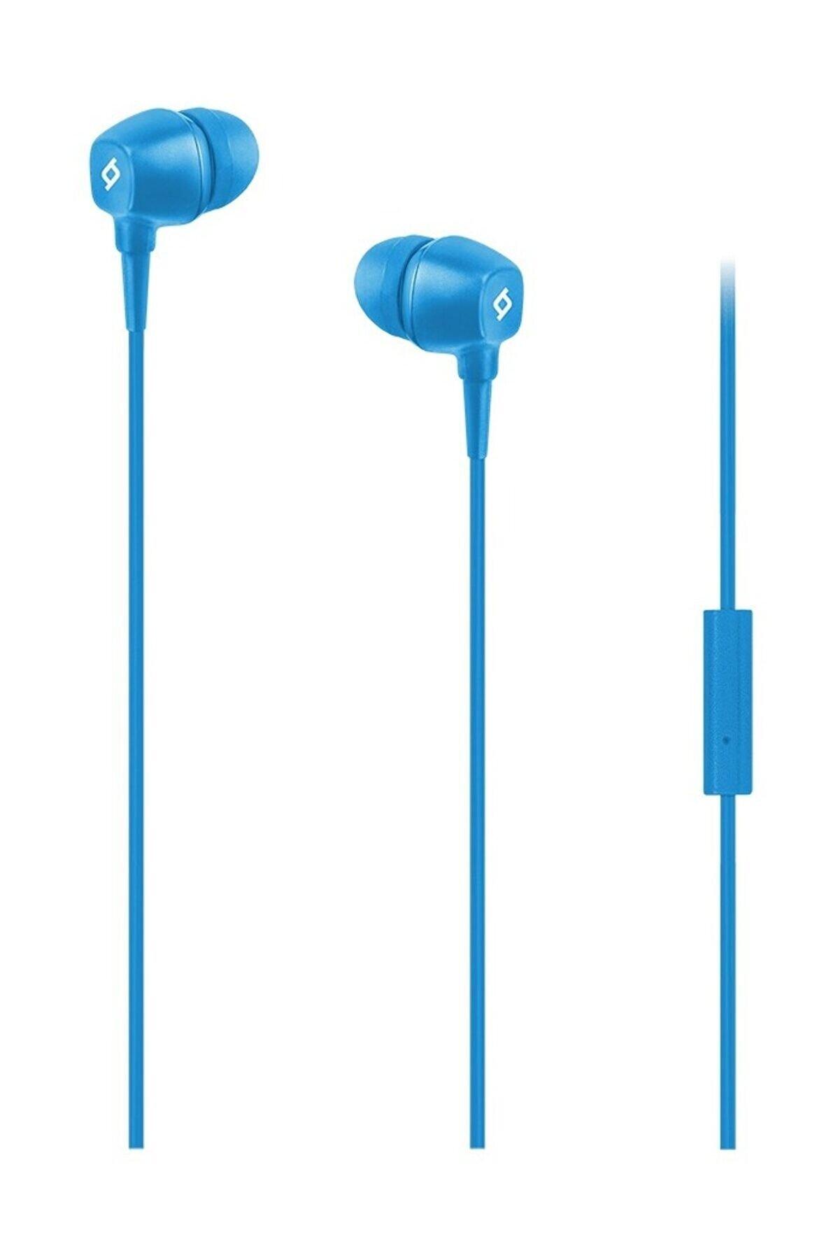 Ttec Pop Mikrofonlu Kulakiçi Kulaklık 3.5mm Mavi