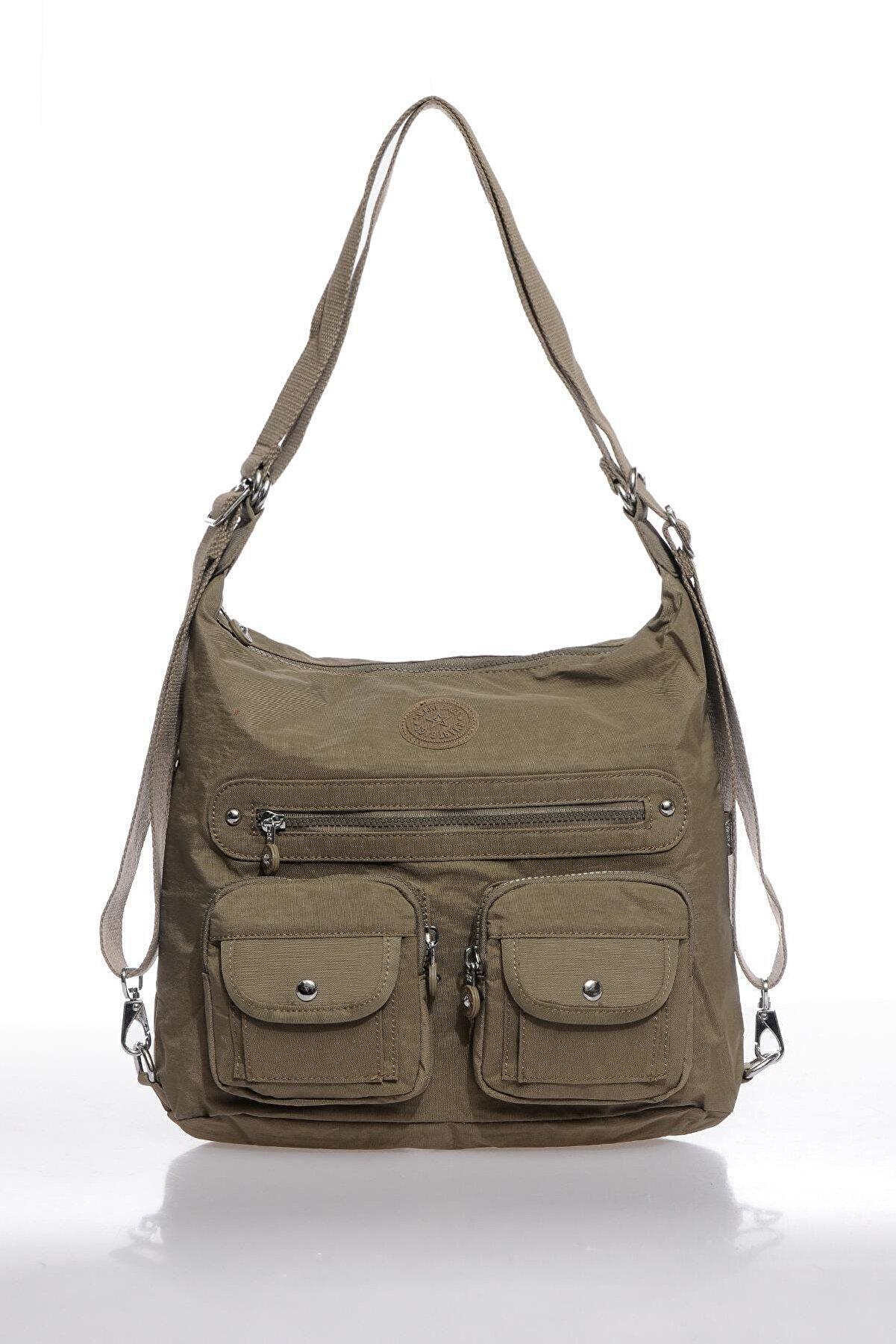 Smart Bags Smbk1118-0007 A.kahverengi Kadın Sırt Ve Omuz Çantası
