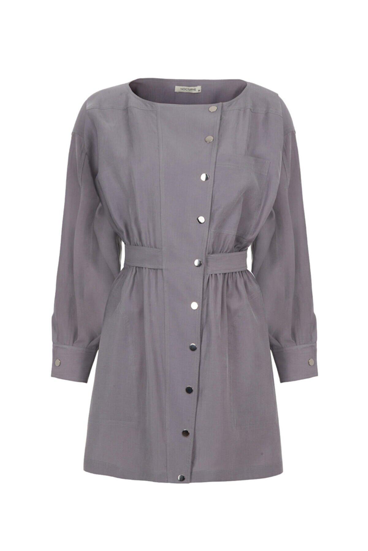 Nocturne Kuşaklı Mini Elbise