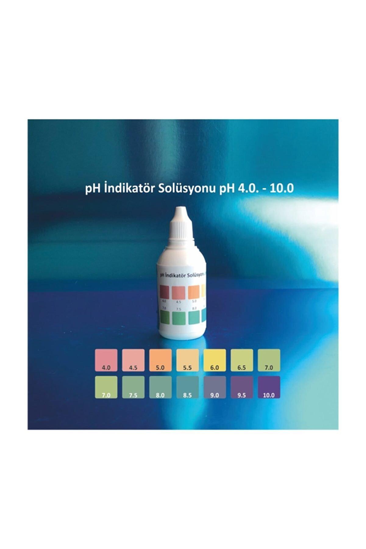 Testonic Ph Indikatör Solüsyonu (universal Ph 4,0 - 10,0) (60 Ml)