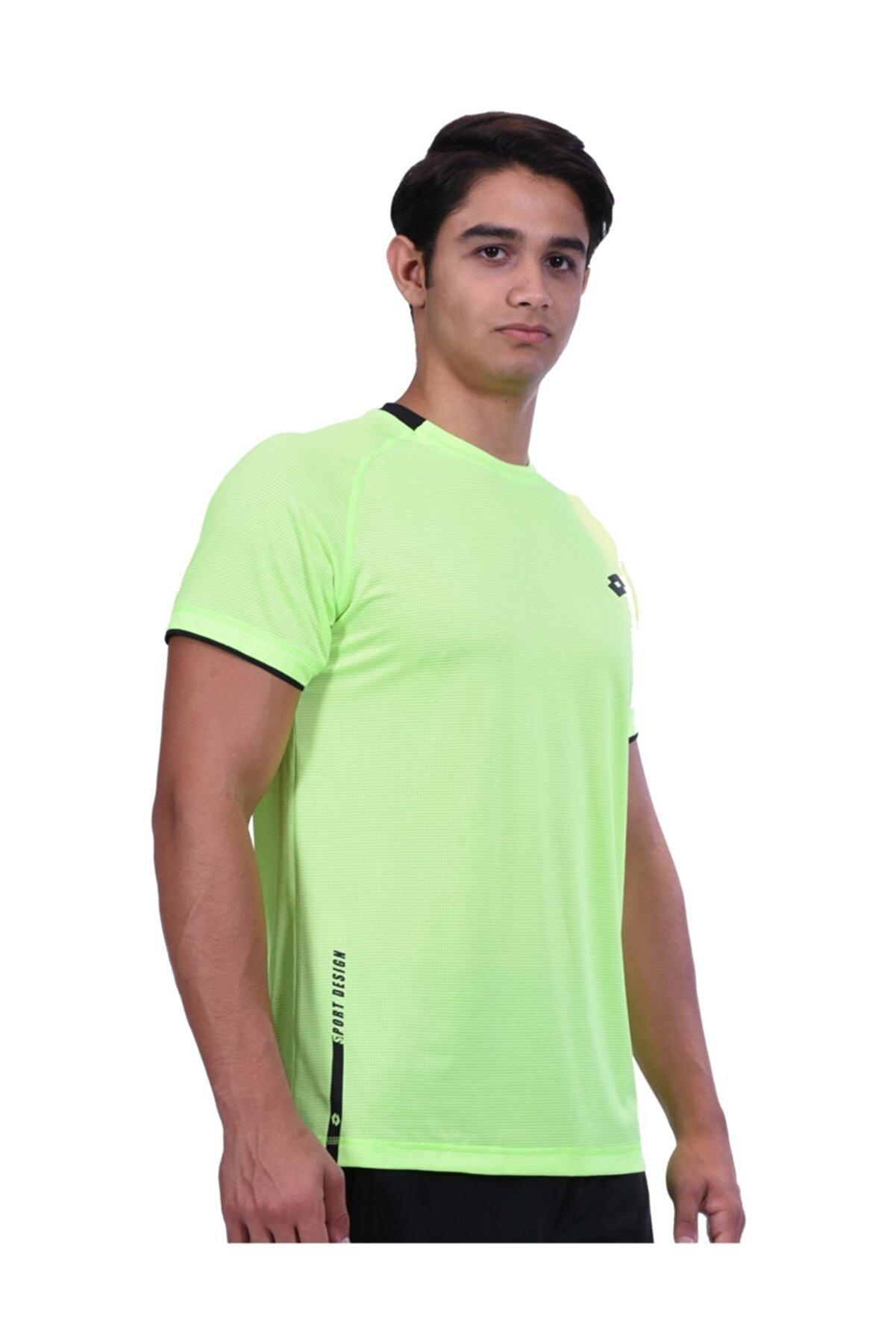 Lotto T-shirt Sarı Erkek - R8279