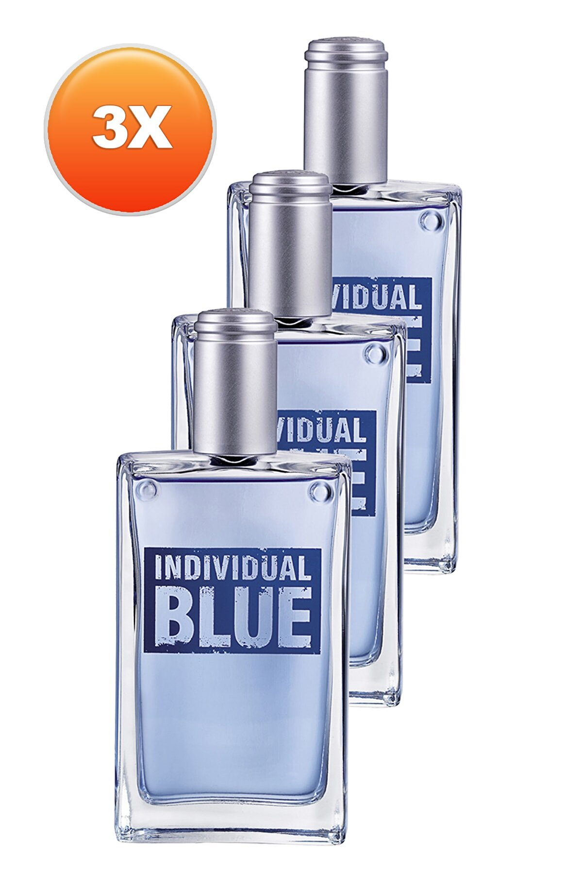 Avon Individual Blue 100 Ml Edt 3lü Eknomik Set 5050000104029