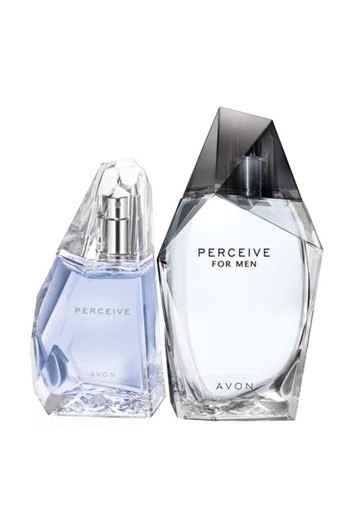 Avon Perceive Edp 50 ml Kadın Parfümü + Perceive Edt 100 ml Erkek Parfüm Seti 8681298981688