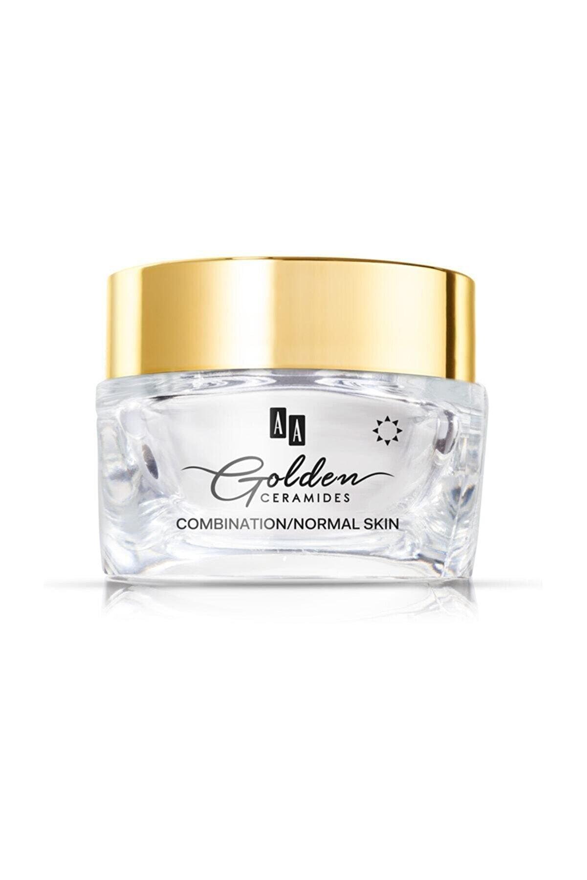 AA Cosmetics Aa Golden Ceramides Kırışıklık Kremi Gündüz Karma/normal Cilt 50ml