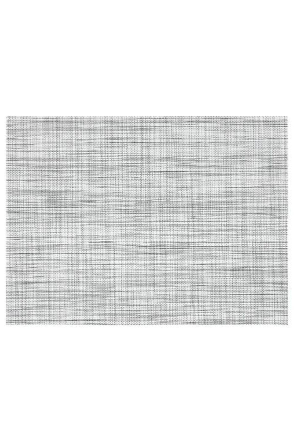 IKEA Amerikan Servis Siyah-beyaz Renk 45x33 Cm Meridyendukkan 1 Adet