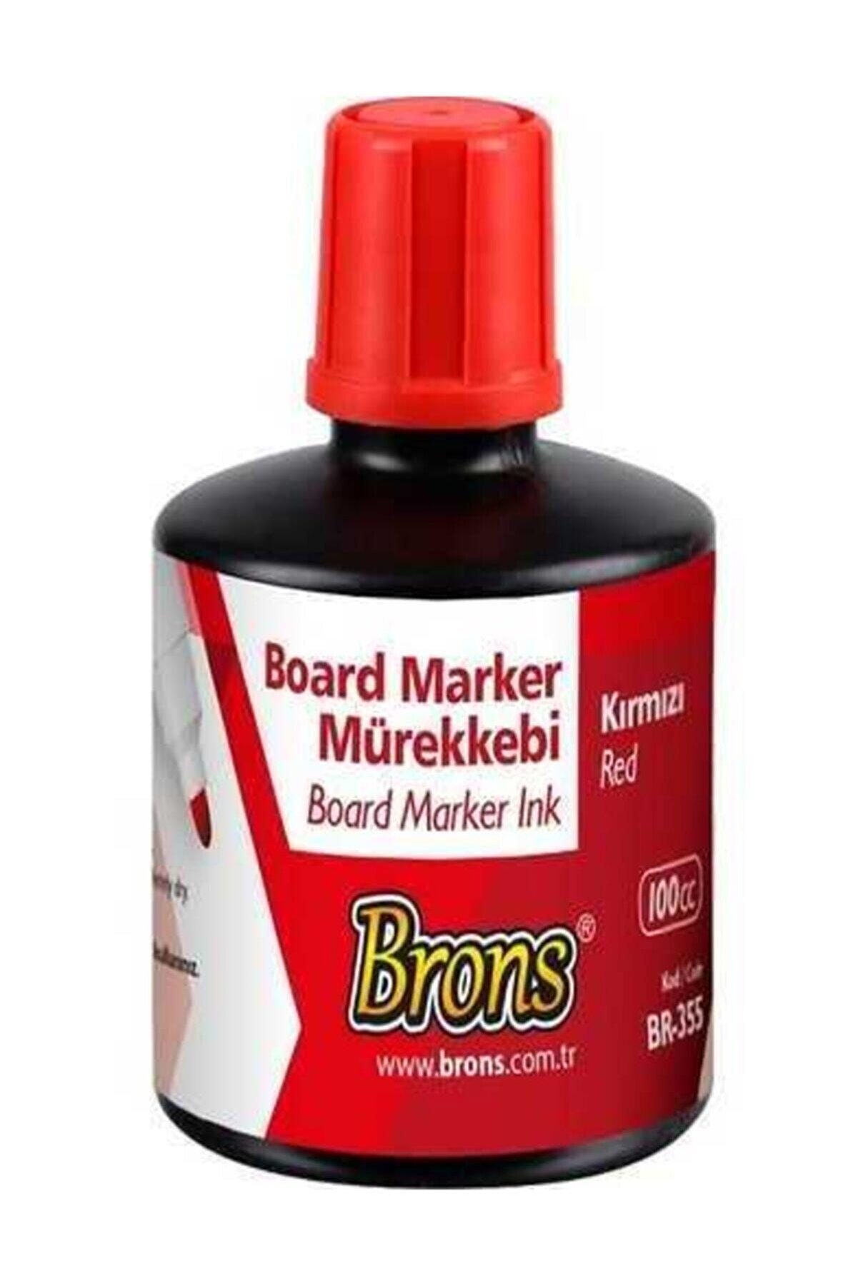 Brons Br-353 100 Cc Kırmızı Tahta Kalem Mürekkebi