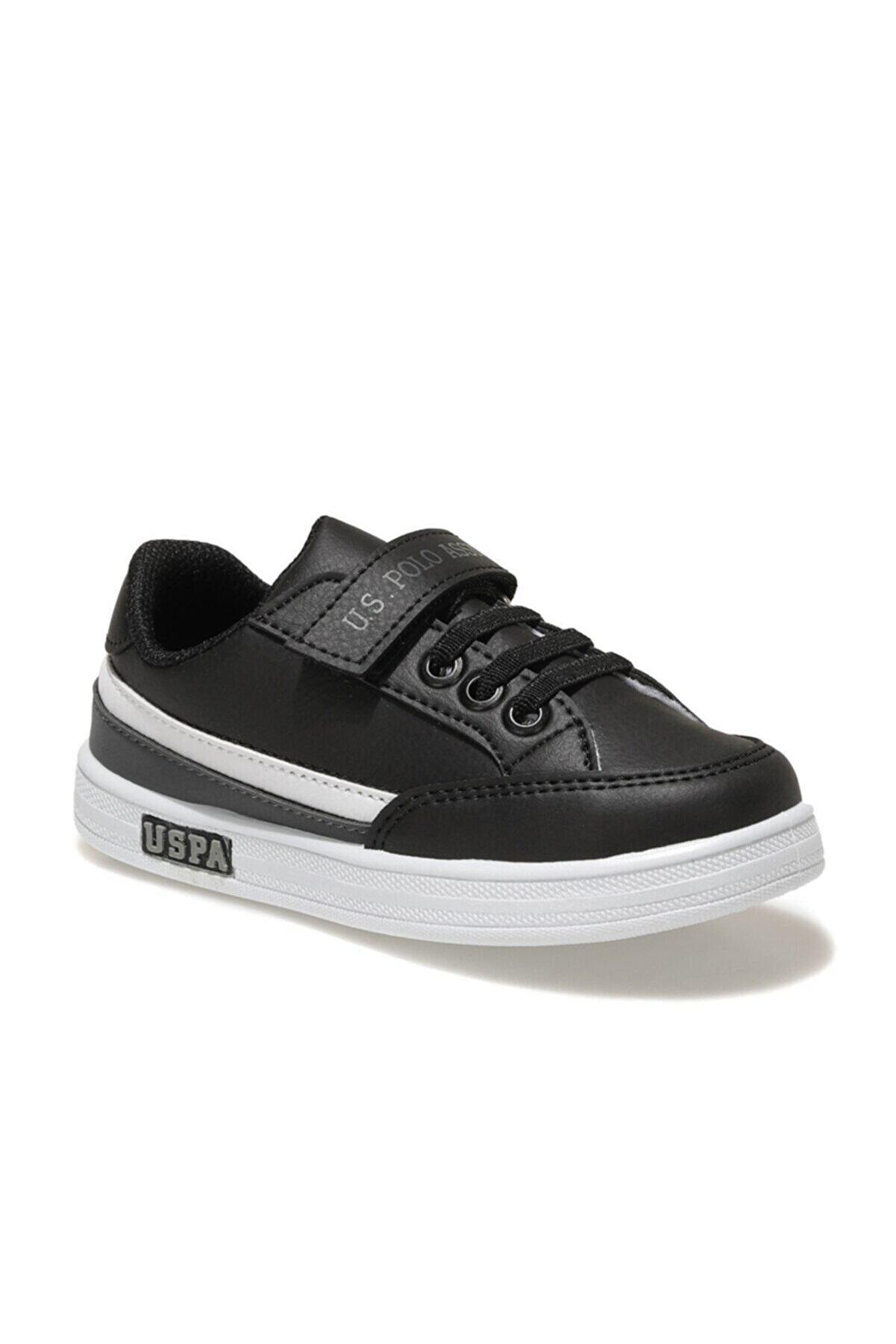 US Polo Assn JAMAL 1FX Siyah Erkek Çocuk Sneaker Ayakkabı 100911029