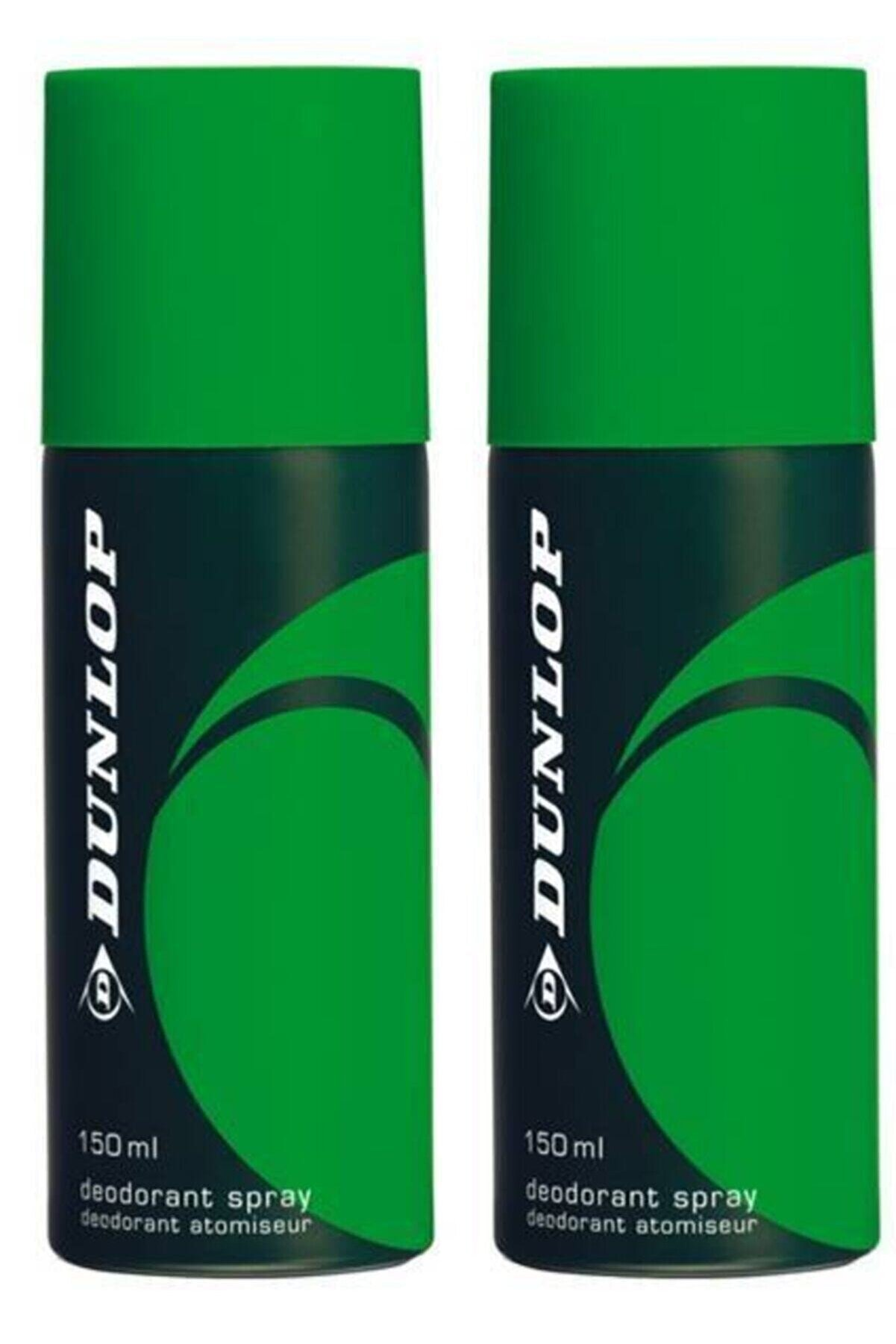 Dunlop Erkek Deodorant Yeşil 150 ml X 2 Adet