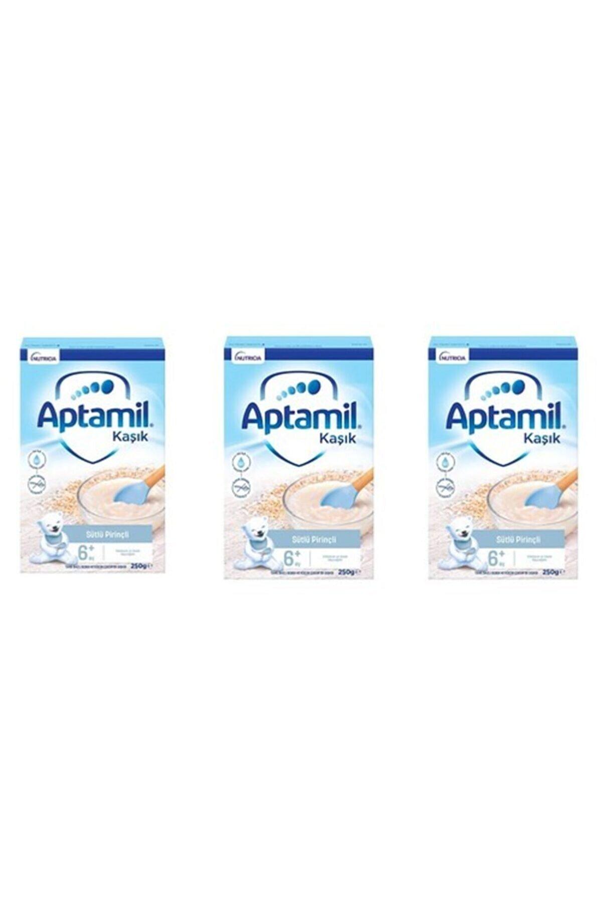 Aptamil Kaşık Sütlü Pirinçli 3'lü 250 gr
