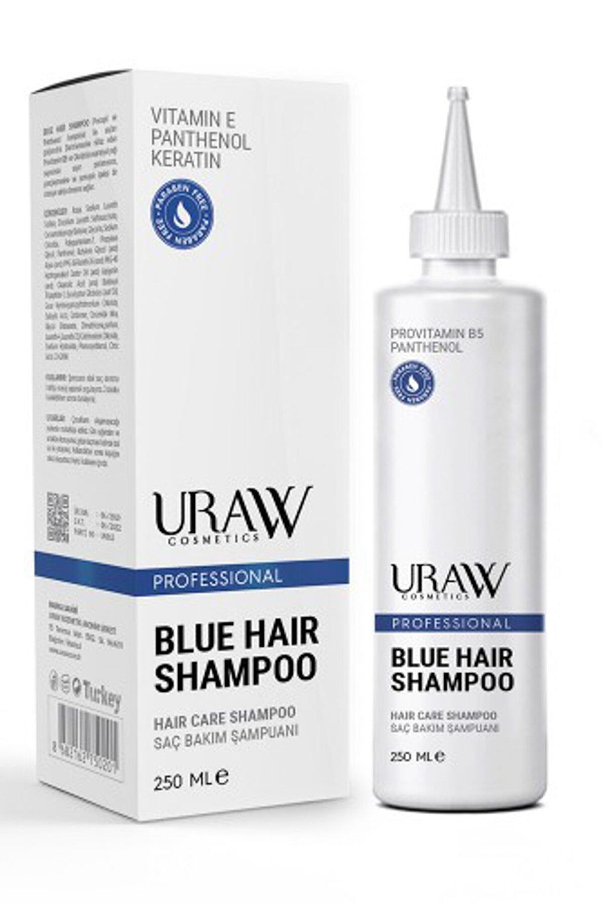 Uraw Blue Hair Shampoo (Mavi Şampuan)