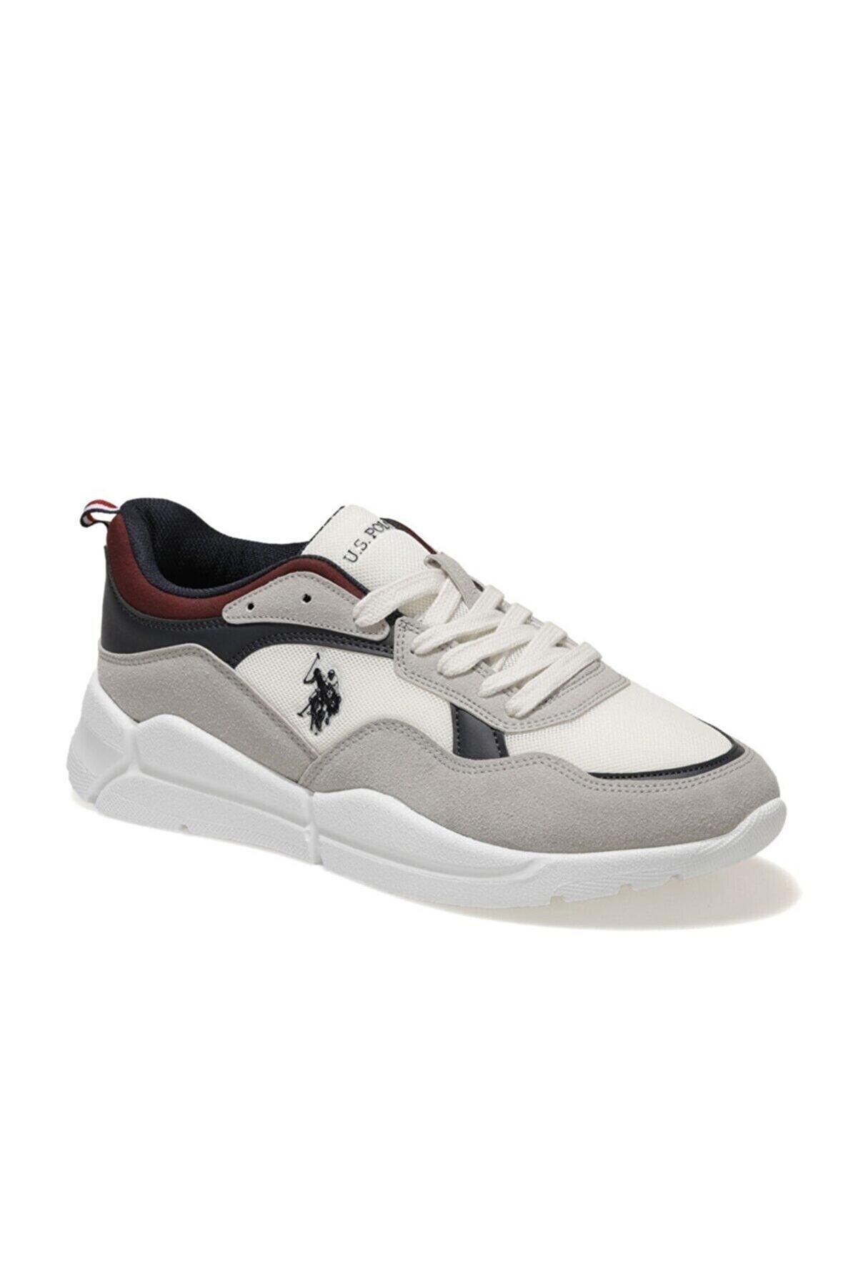 US Polo Assn CALLUM SMR 1FX Beyaz Erkek Sneaker Ayakkabı 100909688