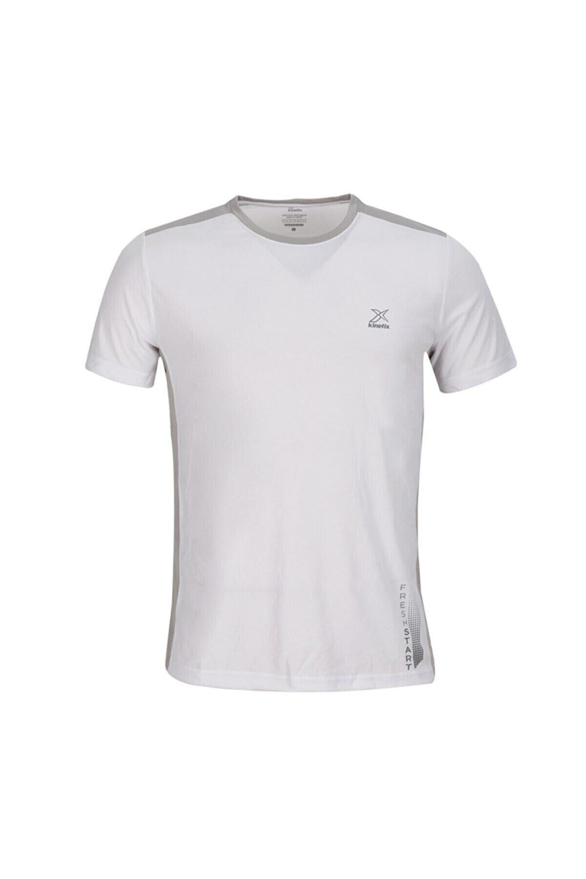Kinetix SN243 ETON T-SHIRT Beyaz Erkek T-Shirt 100583207