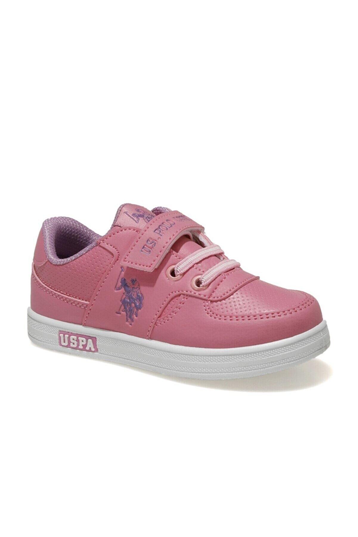 US Polo Assn CAMERON 1FX Pembe Kız Çocuk Sneaker 100909752