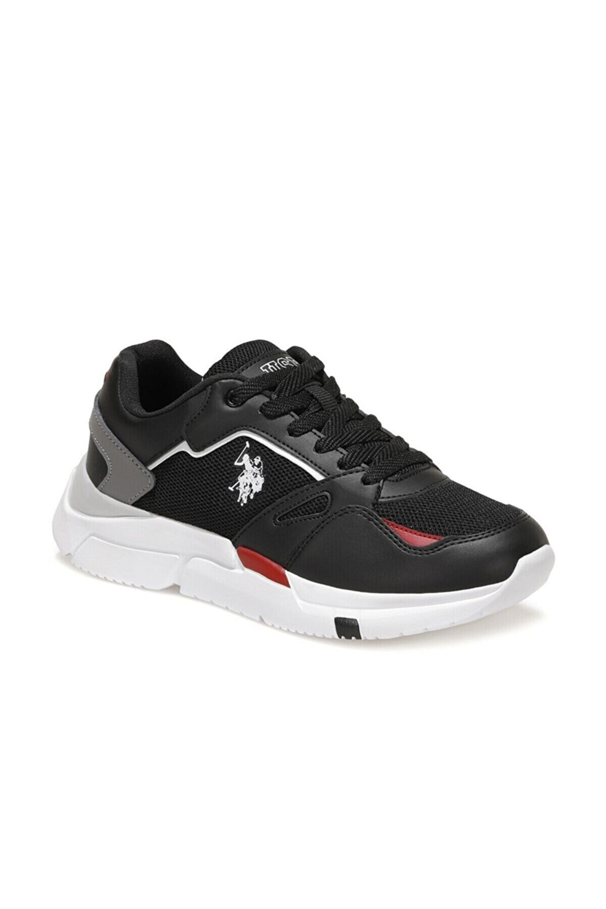 US Polo Assn HOLD TEX WMN Siyah Kadın Sneaker Ayakkabı 100604934