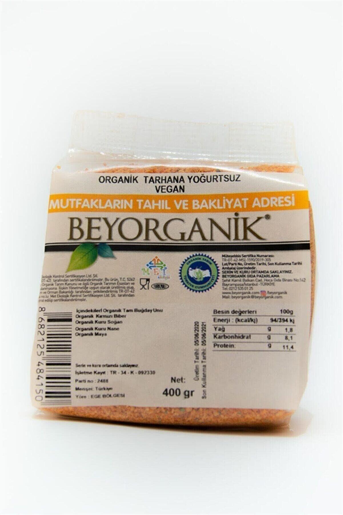 BEYORGANİK Organik Tarhana Yoğurtsuz Vegan 300gr