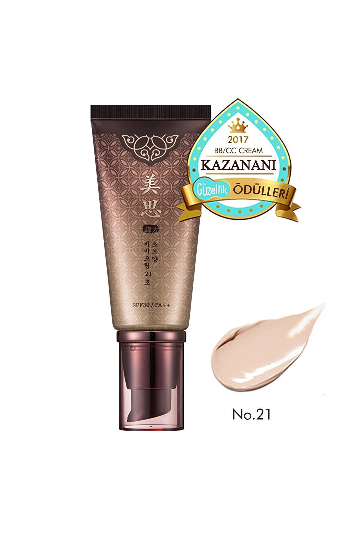 Missha Yoğun Kapatıcı Bitkisel BB Krem 50ml MISA Cho Bo Yang BB Cream SPF30/PA++ (No.21 )