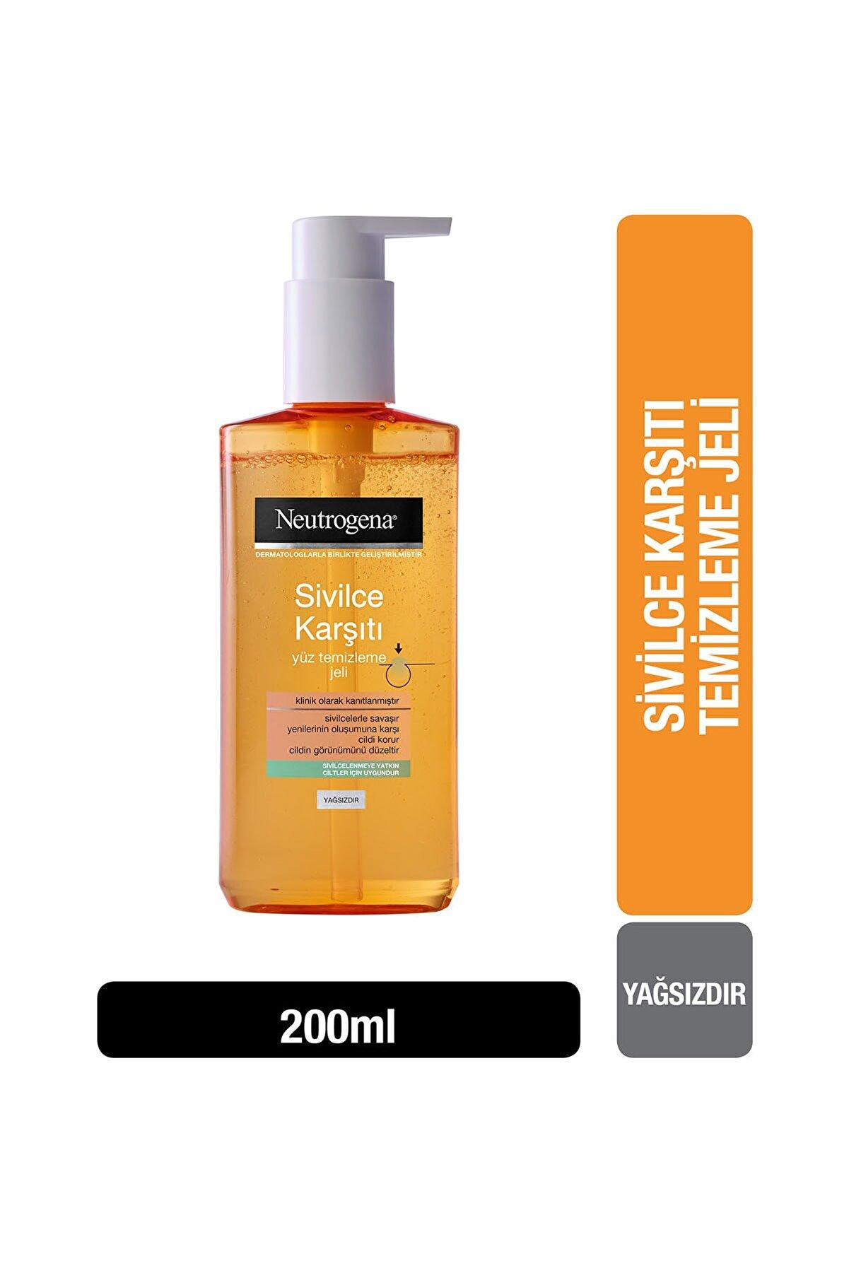Neutrogena Visibly Clear Sivilce Karşıtı Günlük Yüz Temizleme Jeli 200 ml