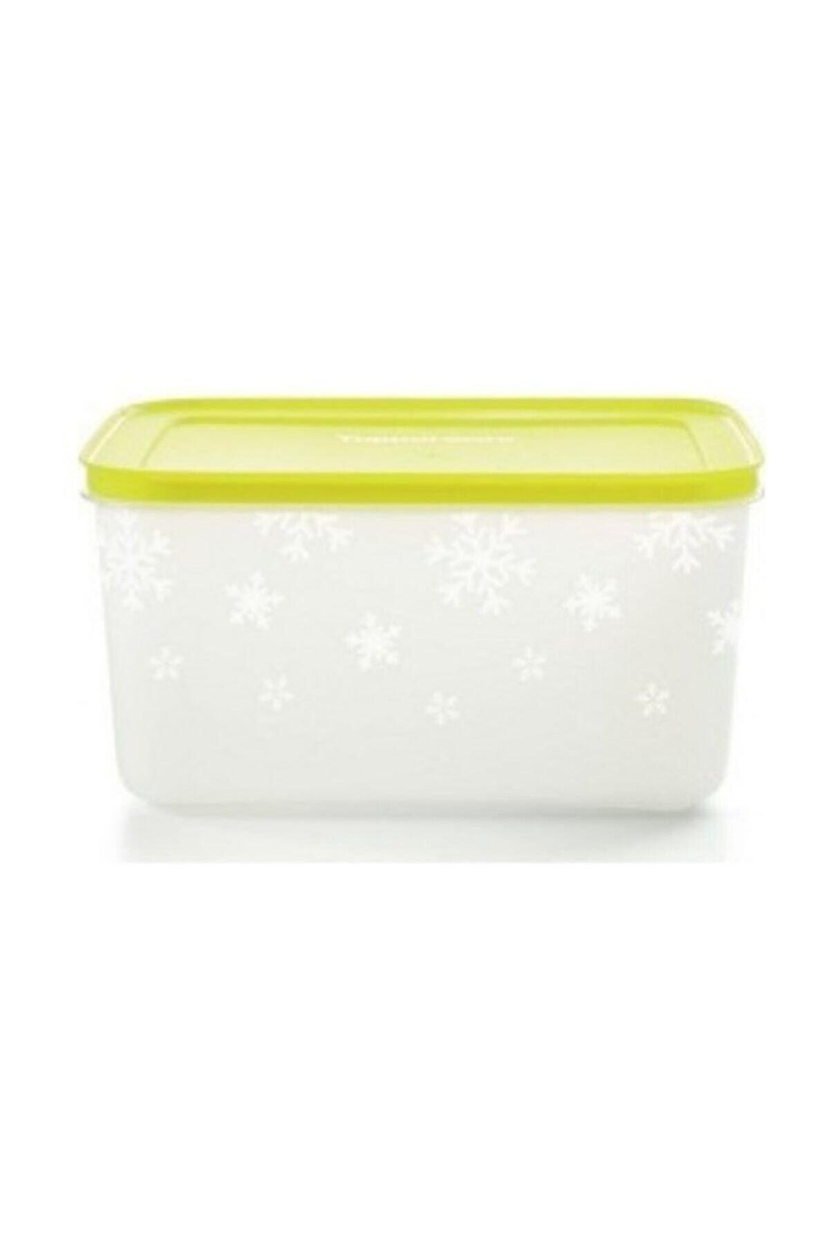 Tupperware Alaska Sarı Kapaklı Saklama Kabı 2,5 Litre