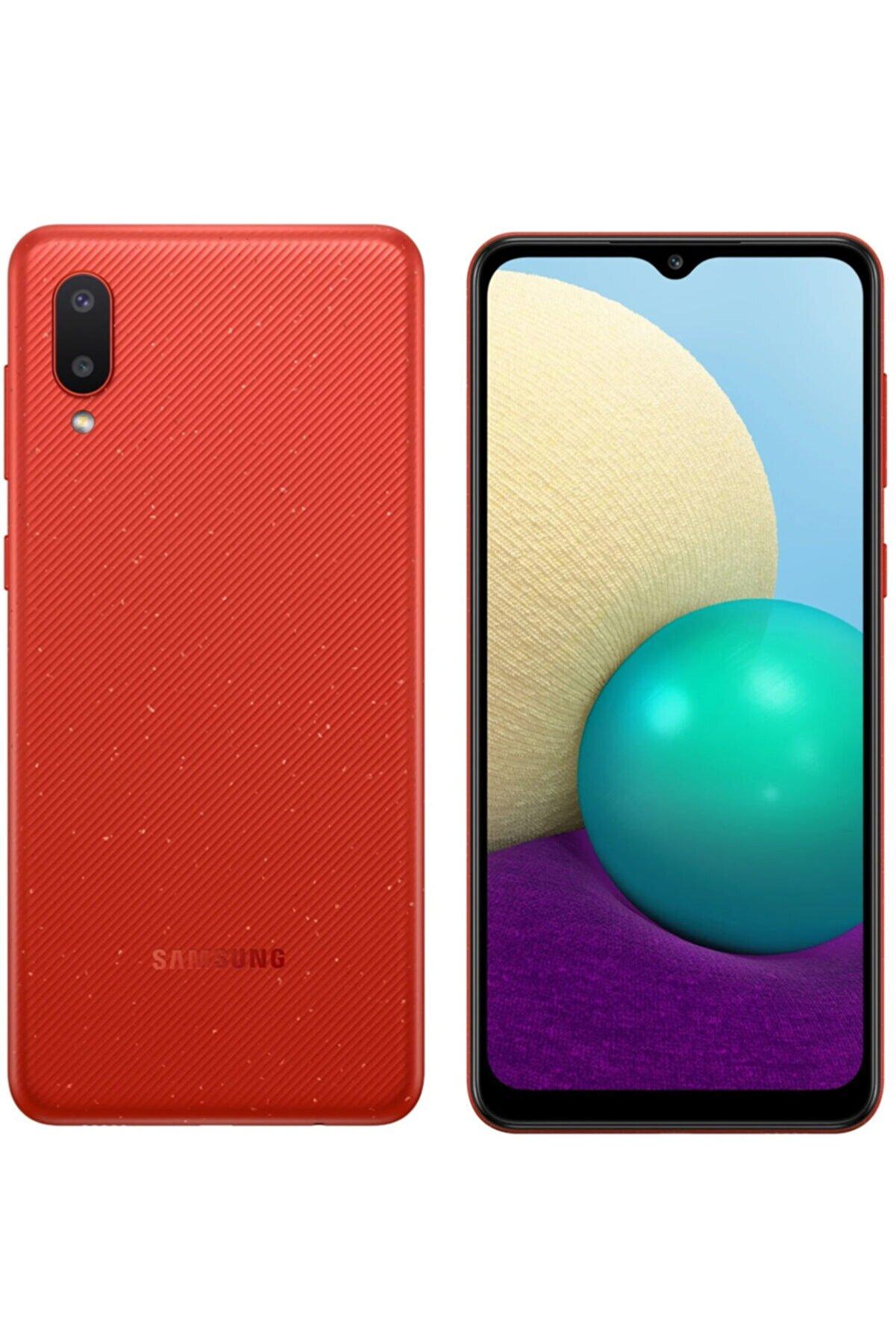 Samsung Galaxy A02 32GB Kırmızı Cep Telefonu (Samsung Türkiye Garantili)