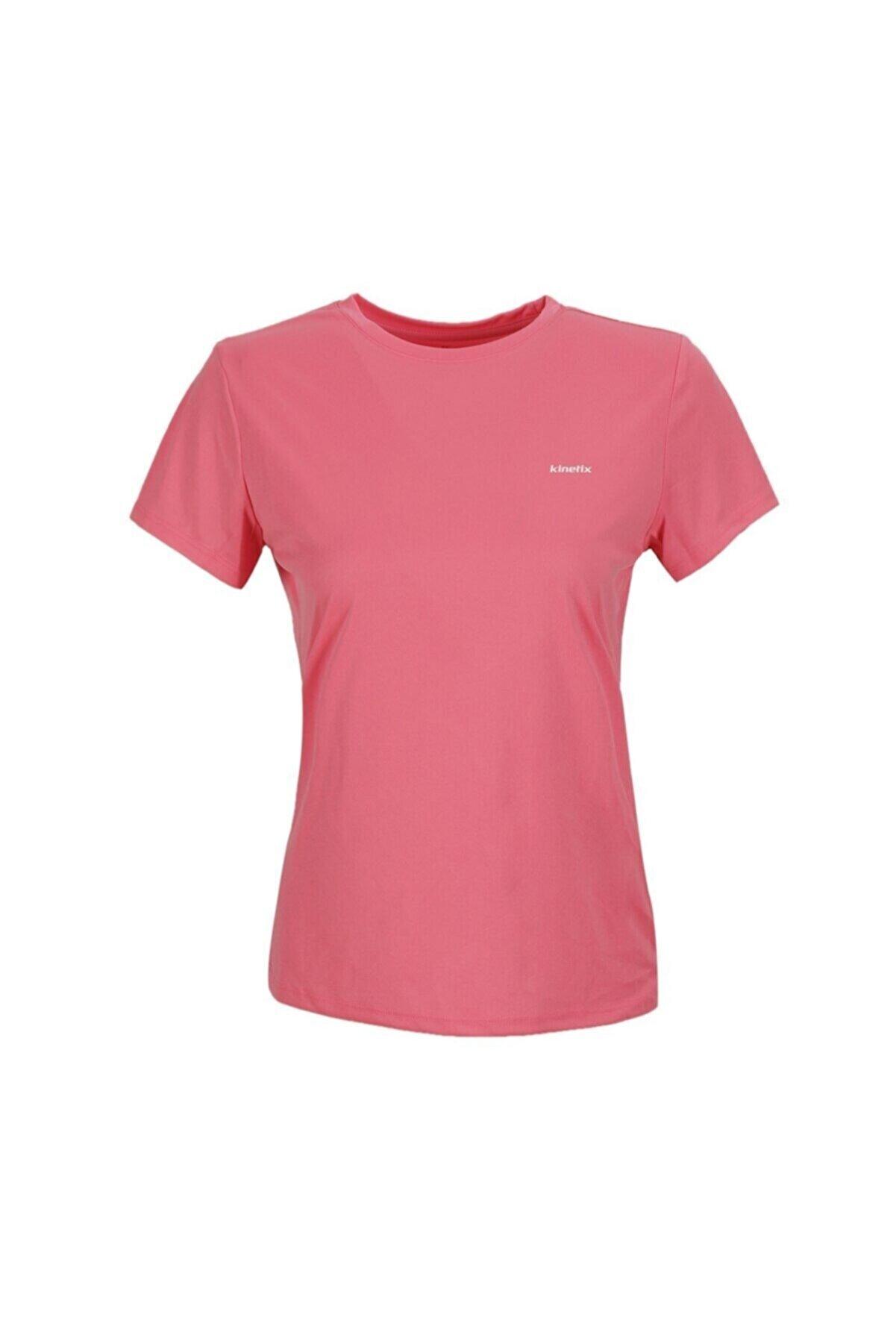 Kinetix SN230 BASIC PES C NECK T- Fuşya Kadın T-Shirt 100581632