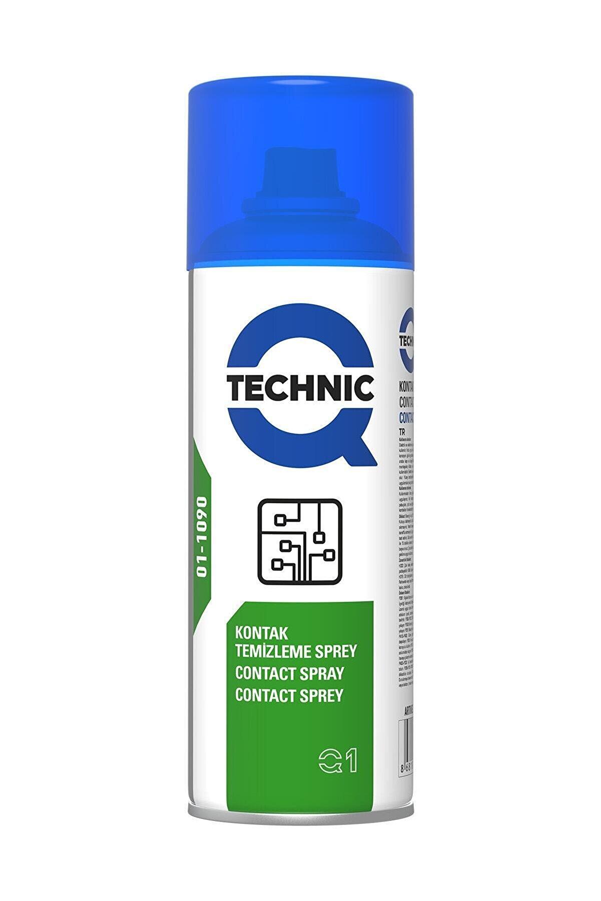 Qtechnic Kontak Temizleyici Sprey (yağsız) 400ml