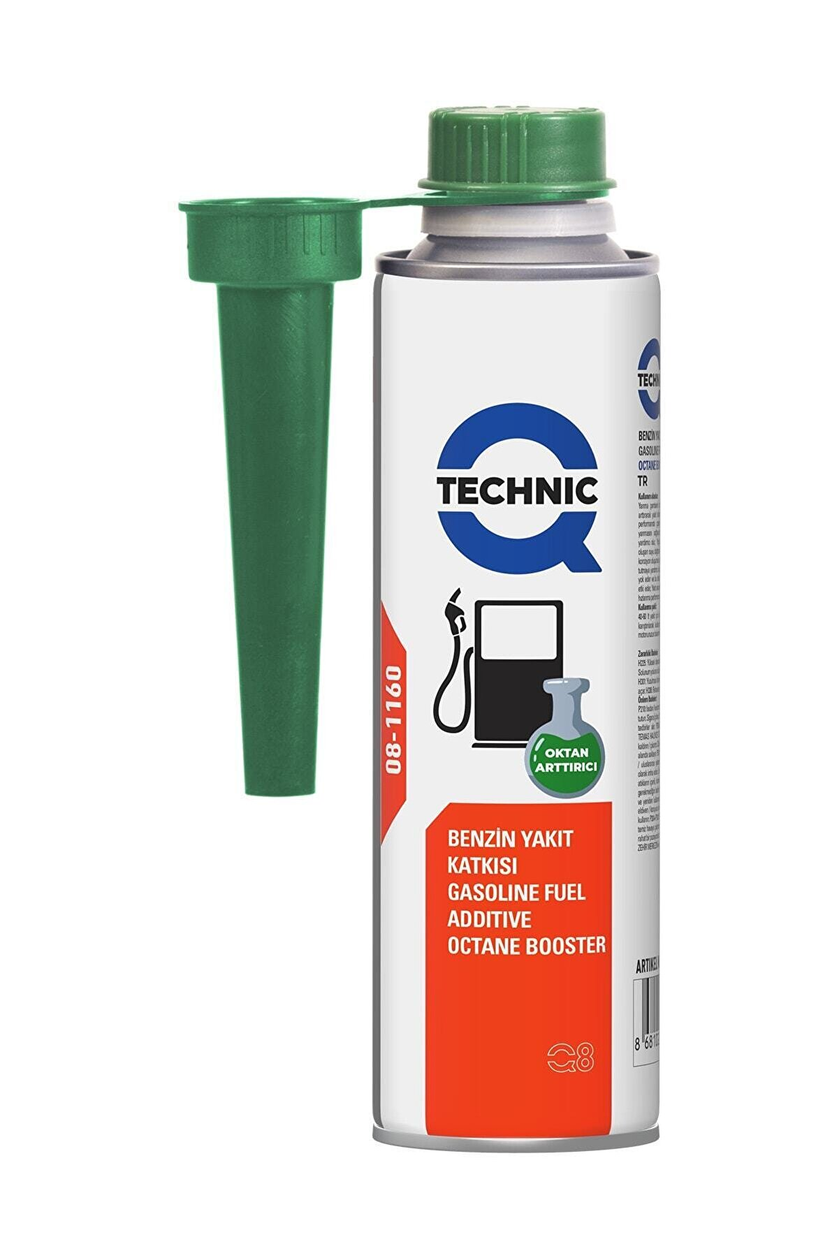 Qtechnic Benzin Yakıt Katkısı (OKTAN ARTTIRICI) 300ml