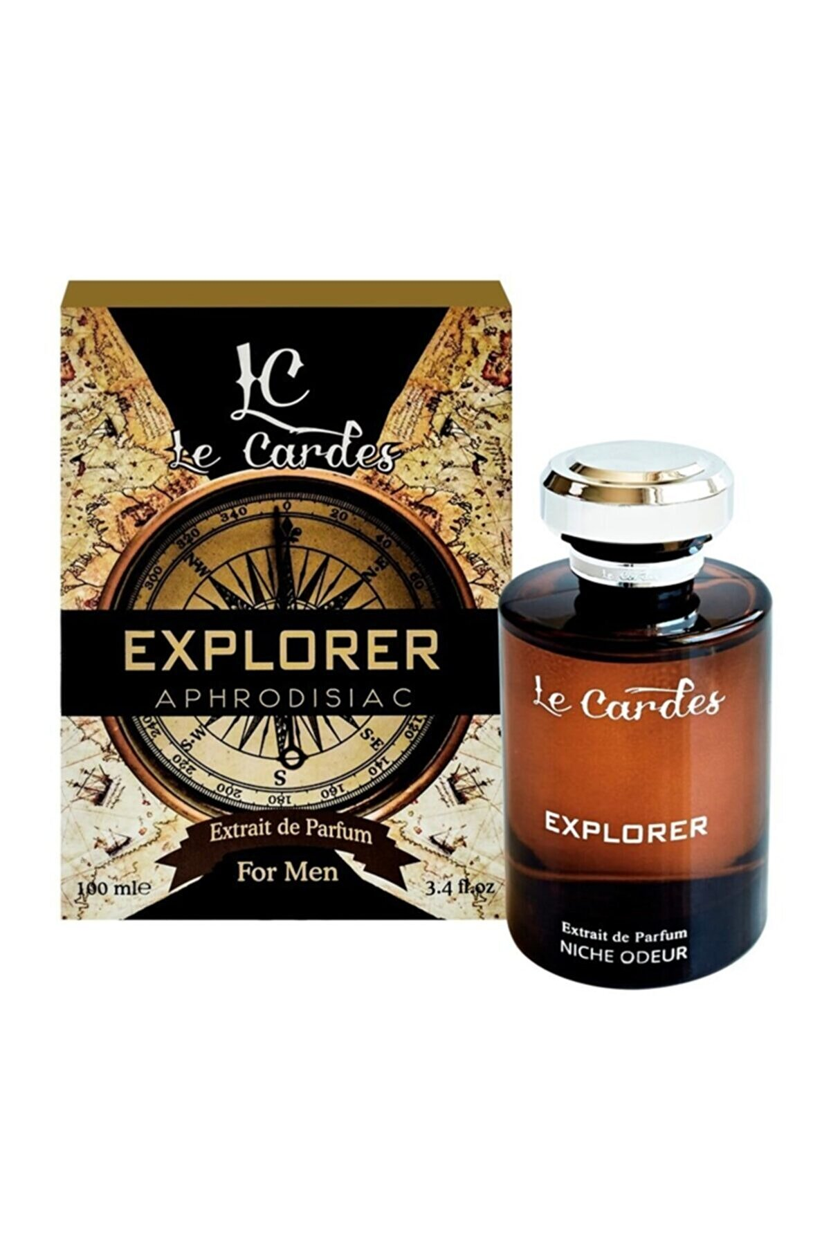 Le Cardes Explorer Afrodizyak Edp 100ml Erkek Parfümü