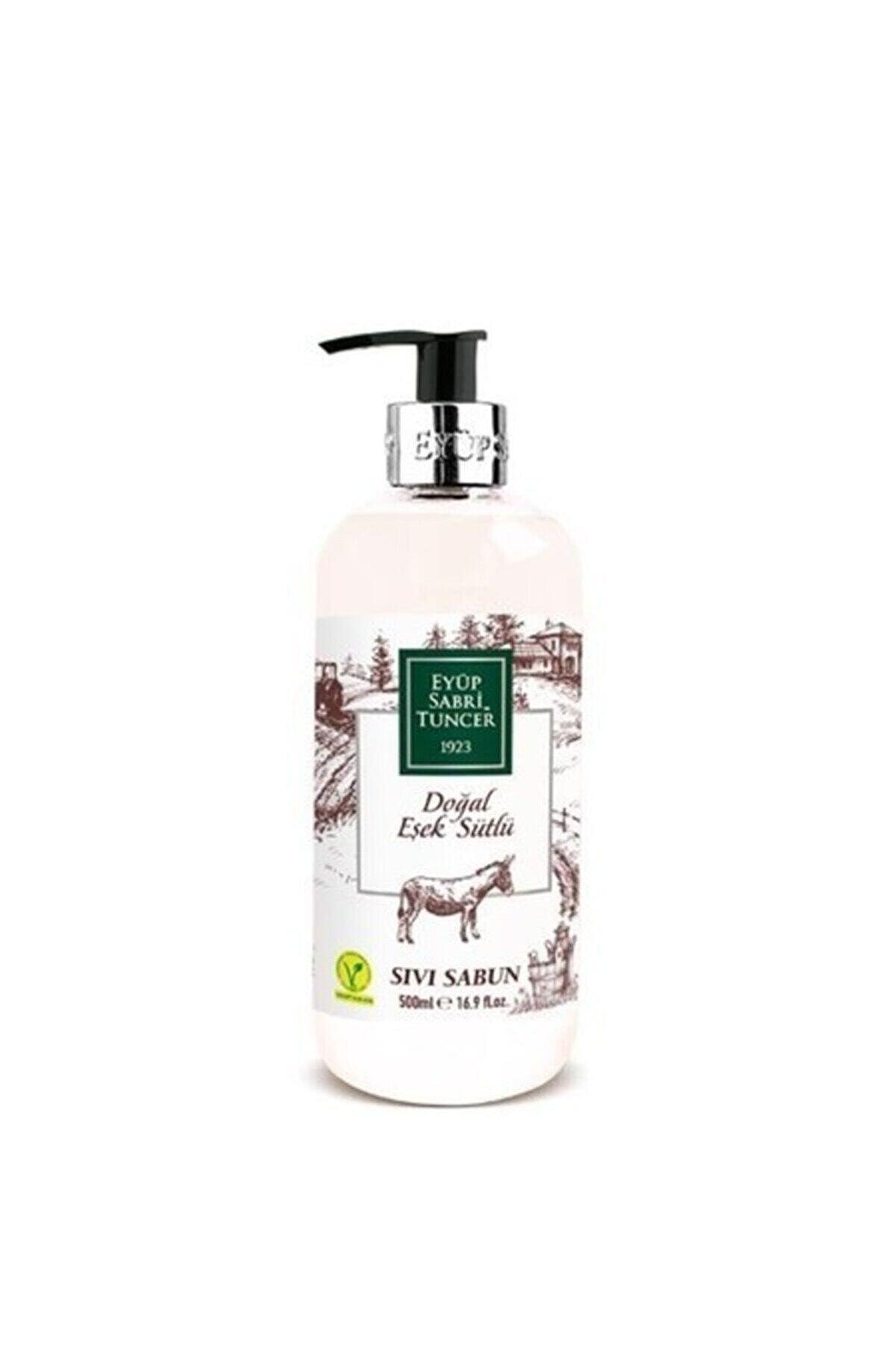 Eyüp Sabri Tuncer Doğal Eşek Sütlü Sıvı Sabun 500 ml