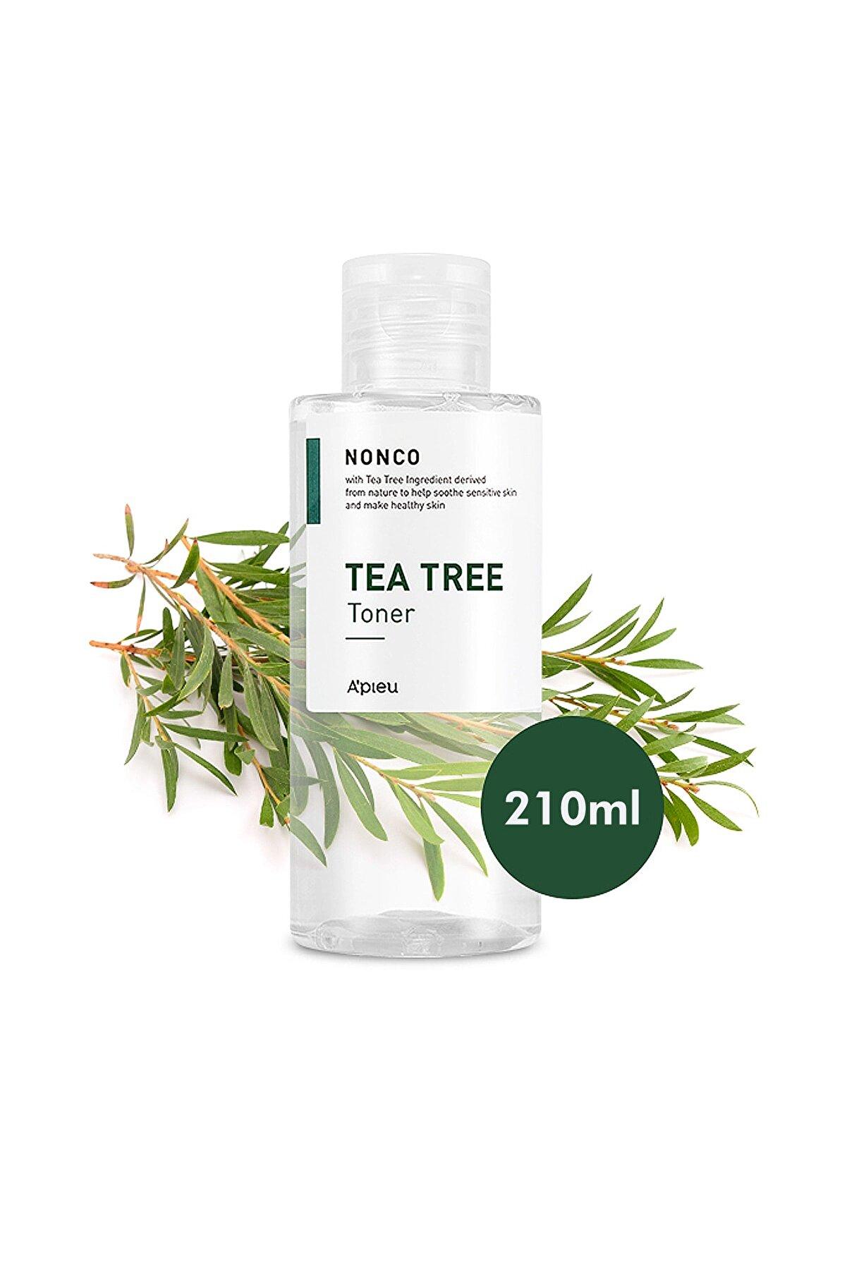 Missha Sivilceli Ciltler İçin Çay Ağacı Yağı İçeren Tonik 210ml APIEU Nonco Tea Tree Toner
