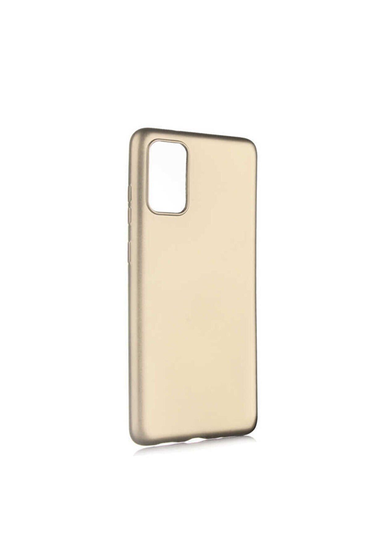 Zore Galaxy S20 Plus Gold Ultra Soft 1.kalite Silikon Kılıf