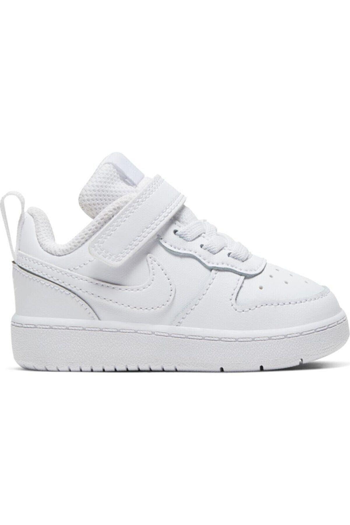 Nike Unisex Bebek Beyaz Bq5453-100 Court Borough Low Spor Ayakkabı