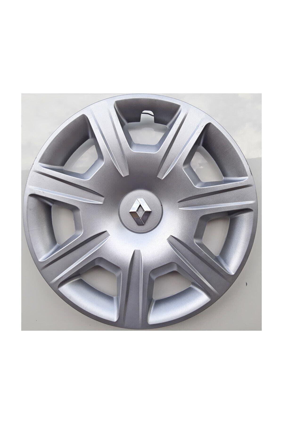 Seta Renault Clio Symbol 15'' Inç Jant Kapağı 4 Adet Kırılmaz Esnek - Amblem
