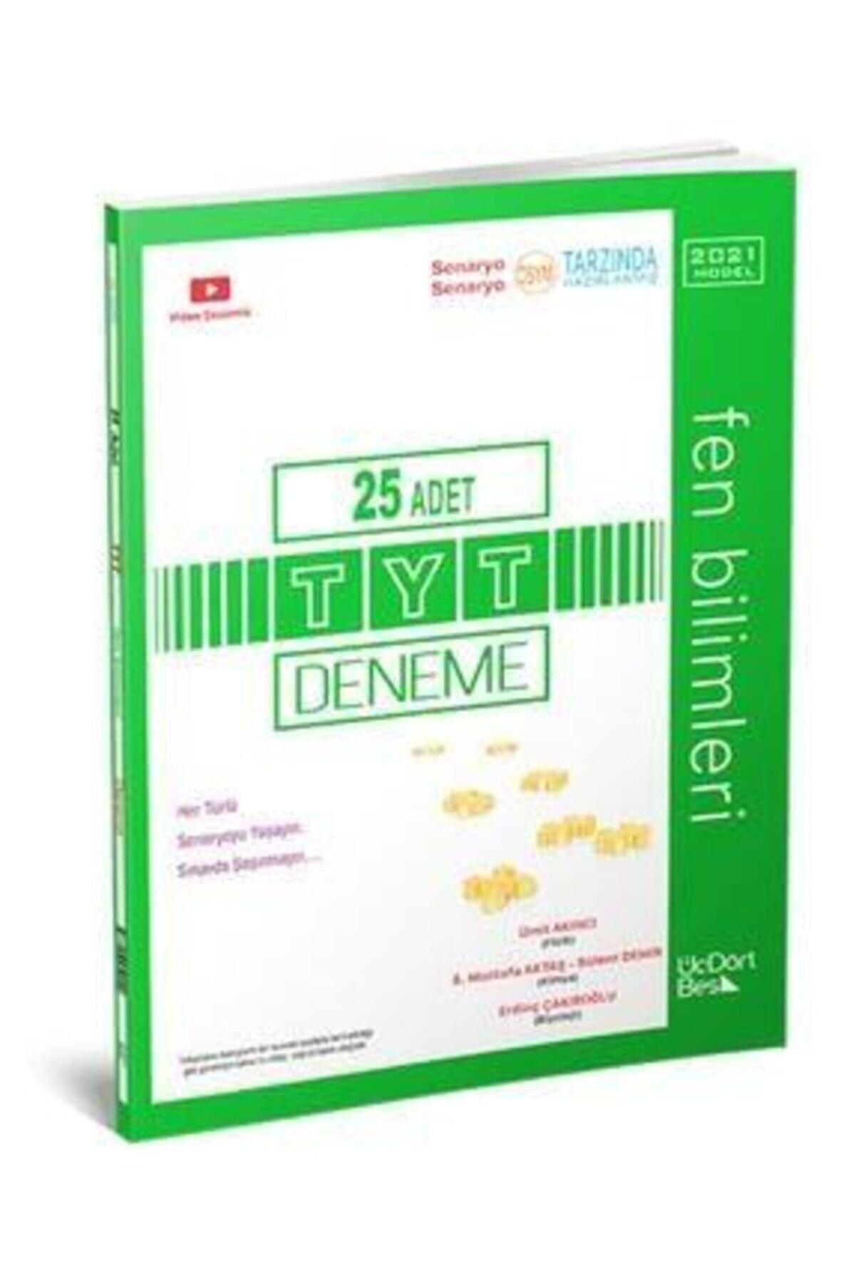 DIGERUI 345 - Tyt 12 Li Fen Bilimleri Deneme Üçdörtbeş Yayınları